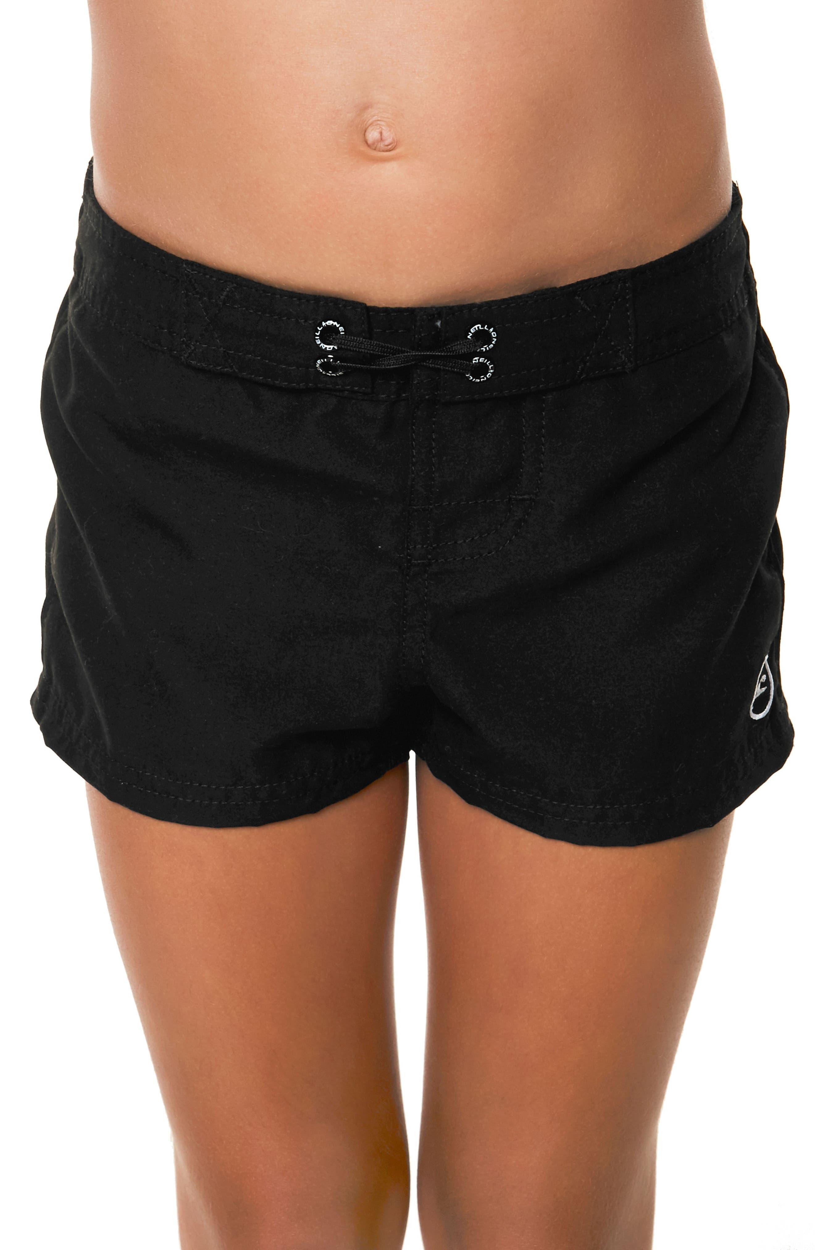 O'Neiil Waidley Denim Shorts,                             Alternate thumbnail 4, color,                             SLATE WASH - SLT