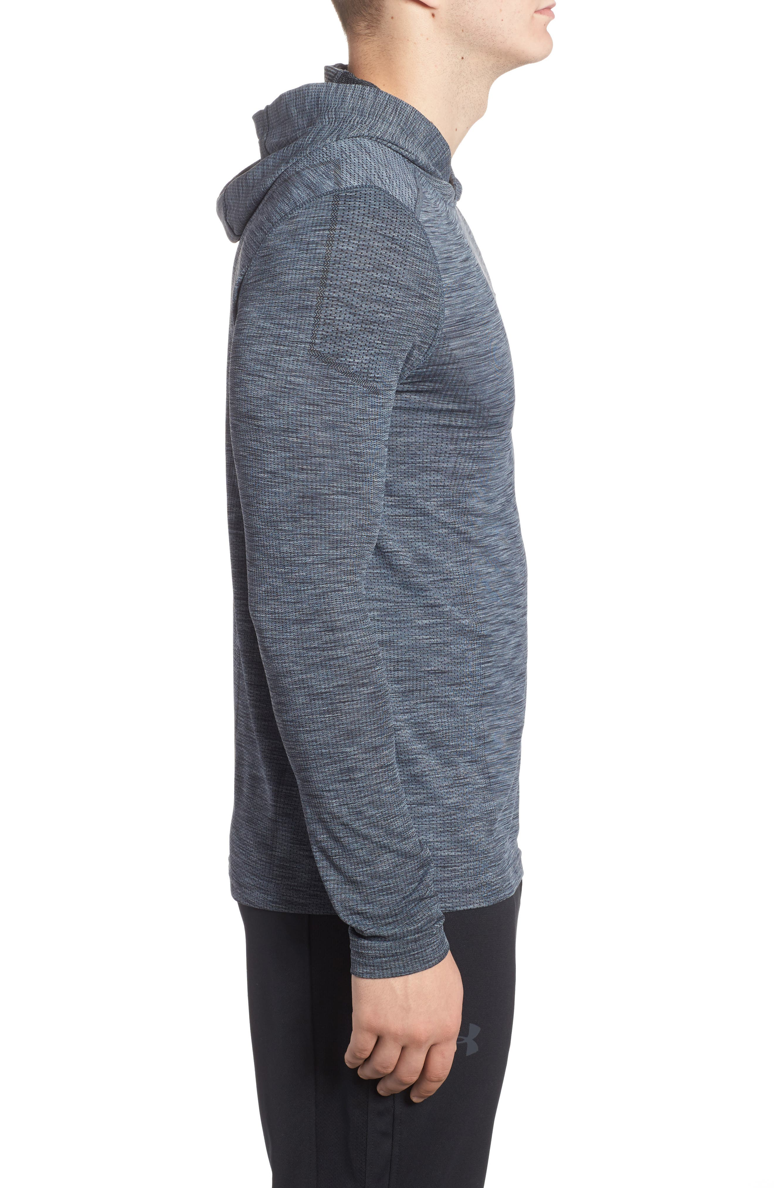 Threadbone Fitted Seamless Hoodie,                             Alternate thumbnail 14, color,