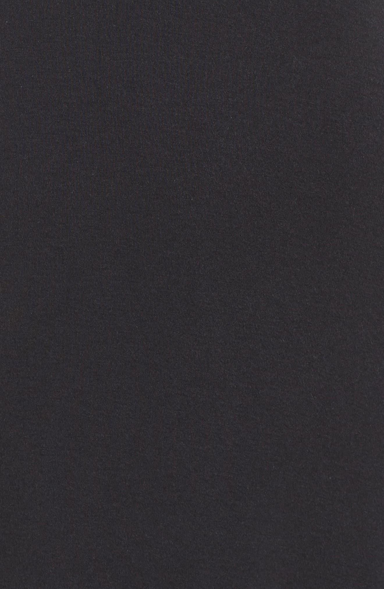 Ballet Nightgown,                             Alternate thumbnail 5, color,                             BLACK/ BLACK