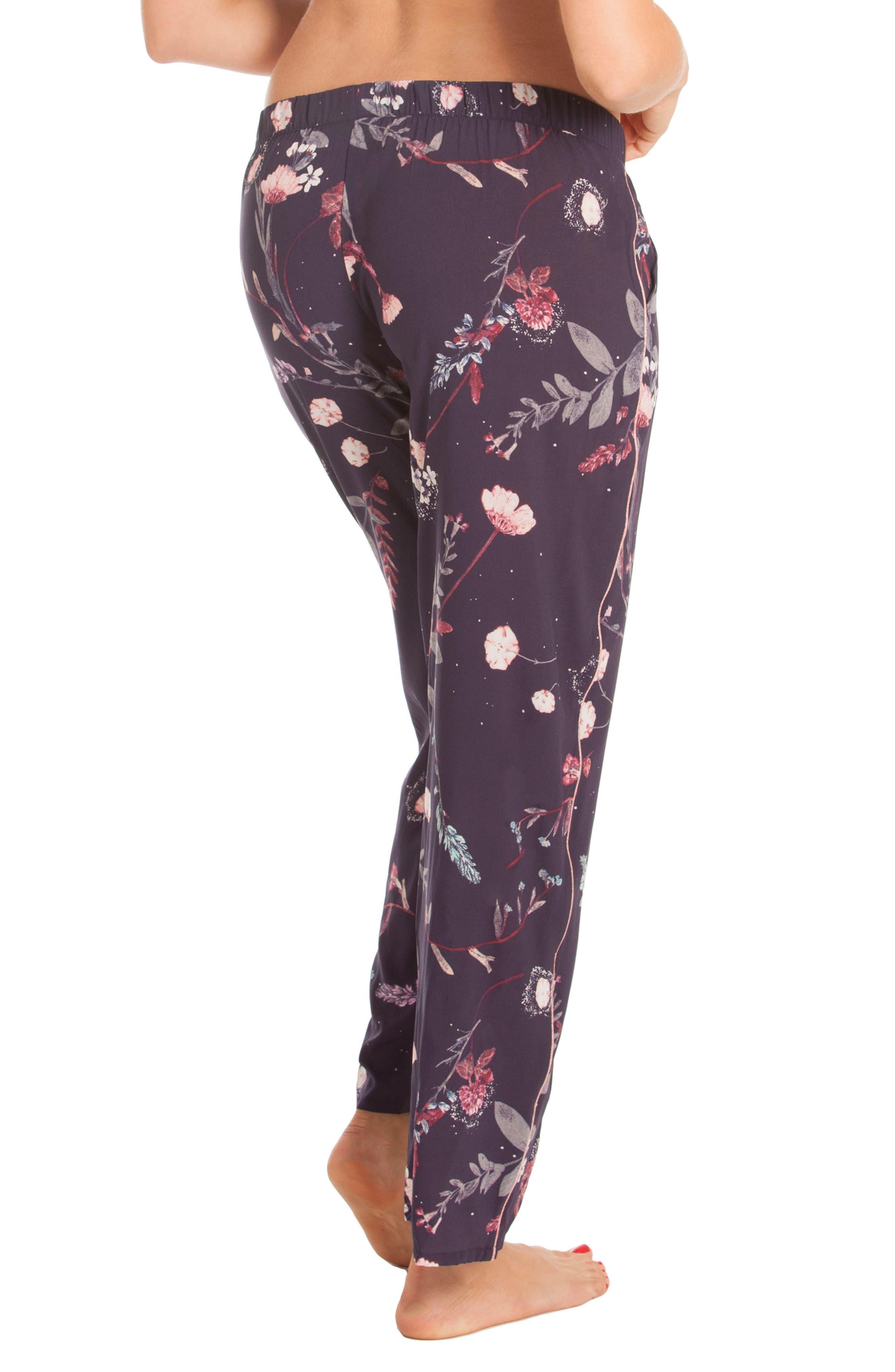 Print Pajama Pants,                             Alternate thumbnail 2, color,                             400