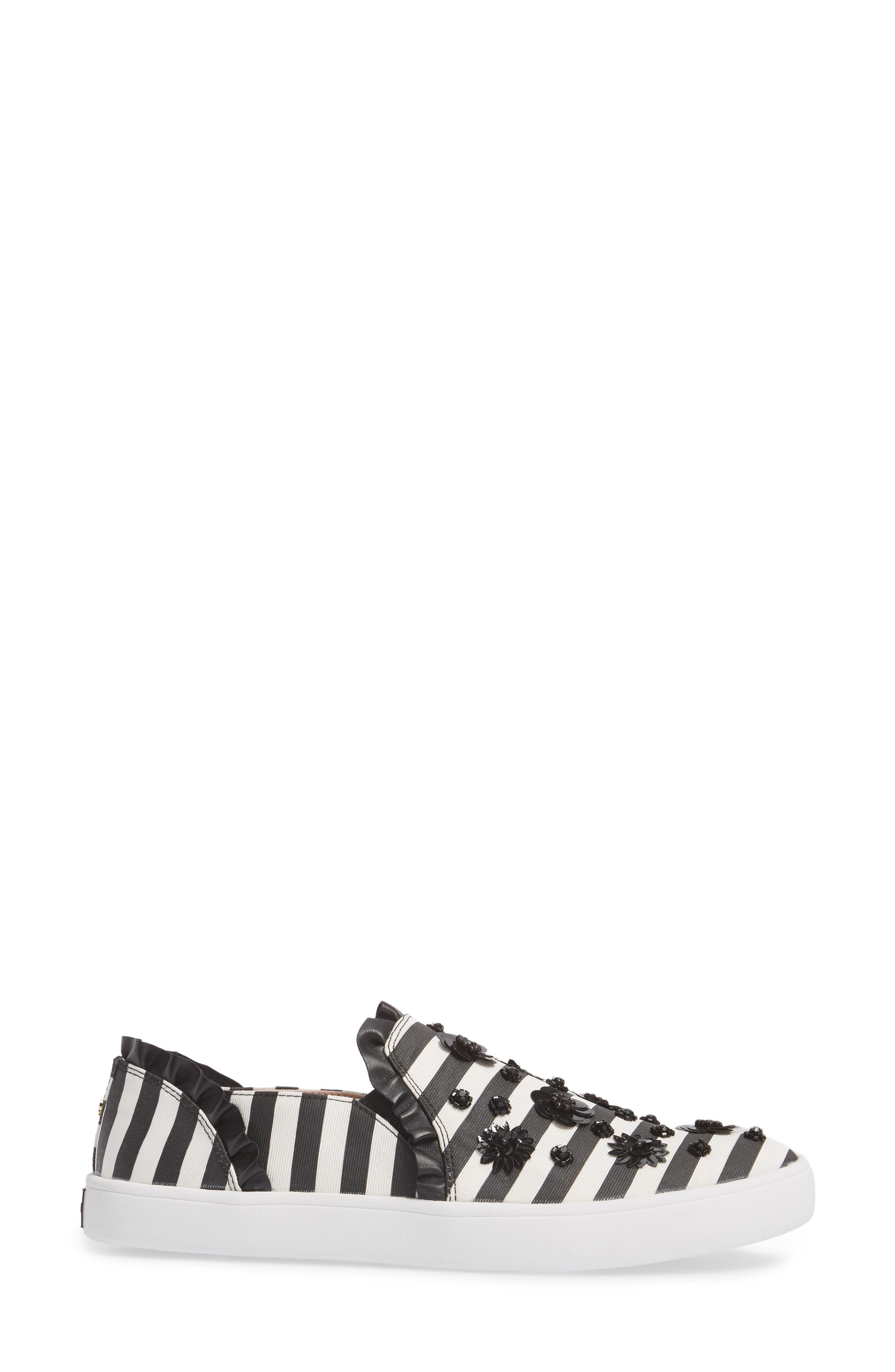 louise slip-on sneaker,                             Alternate thumbnail 3, color,                             002
