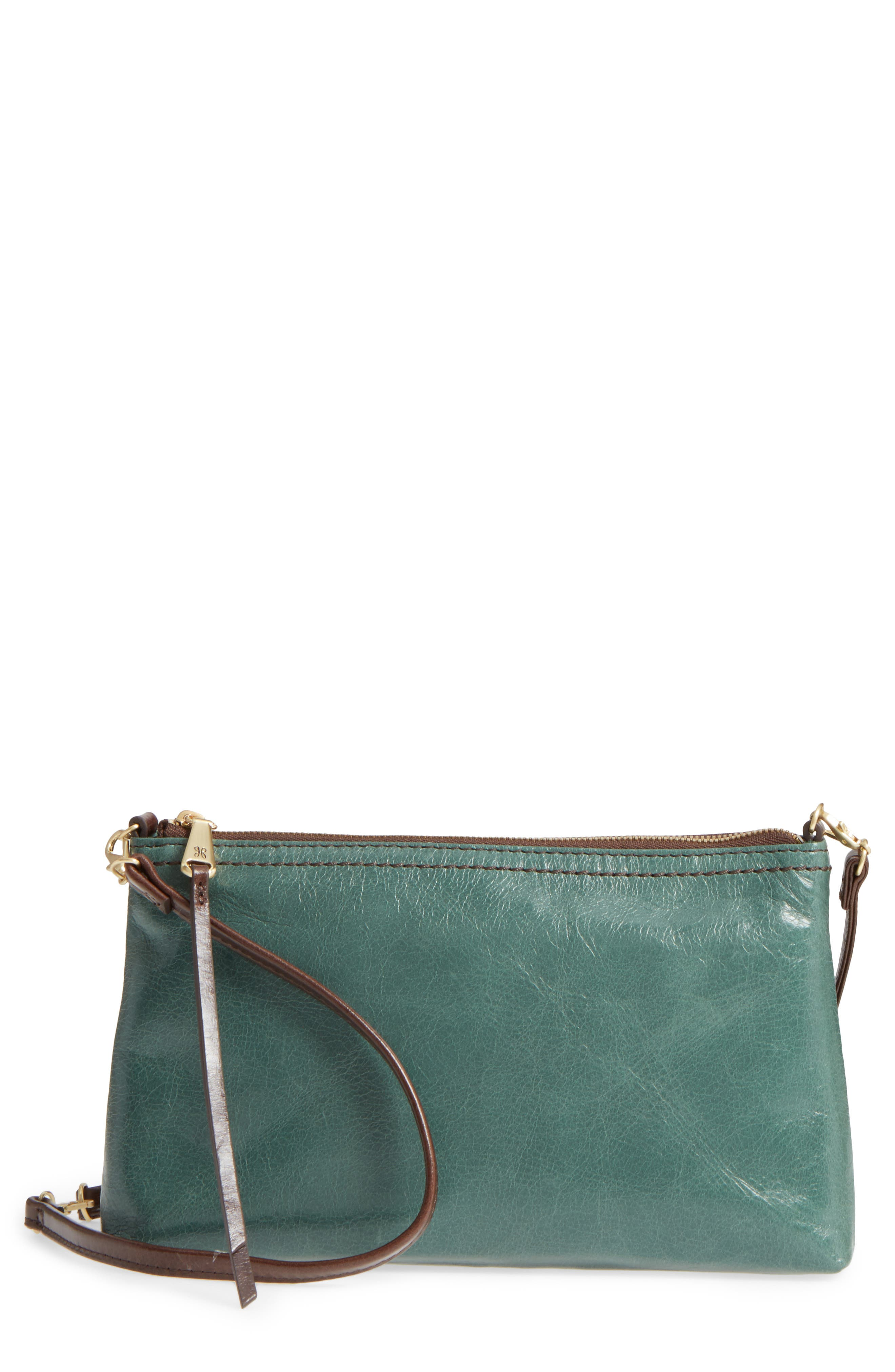 'Darcy' Leather Crossbody Bag,                             Main thumbnail 4, color,