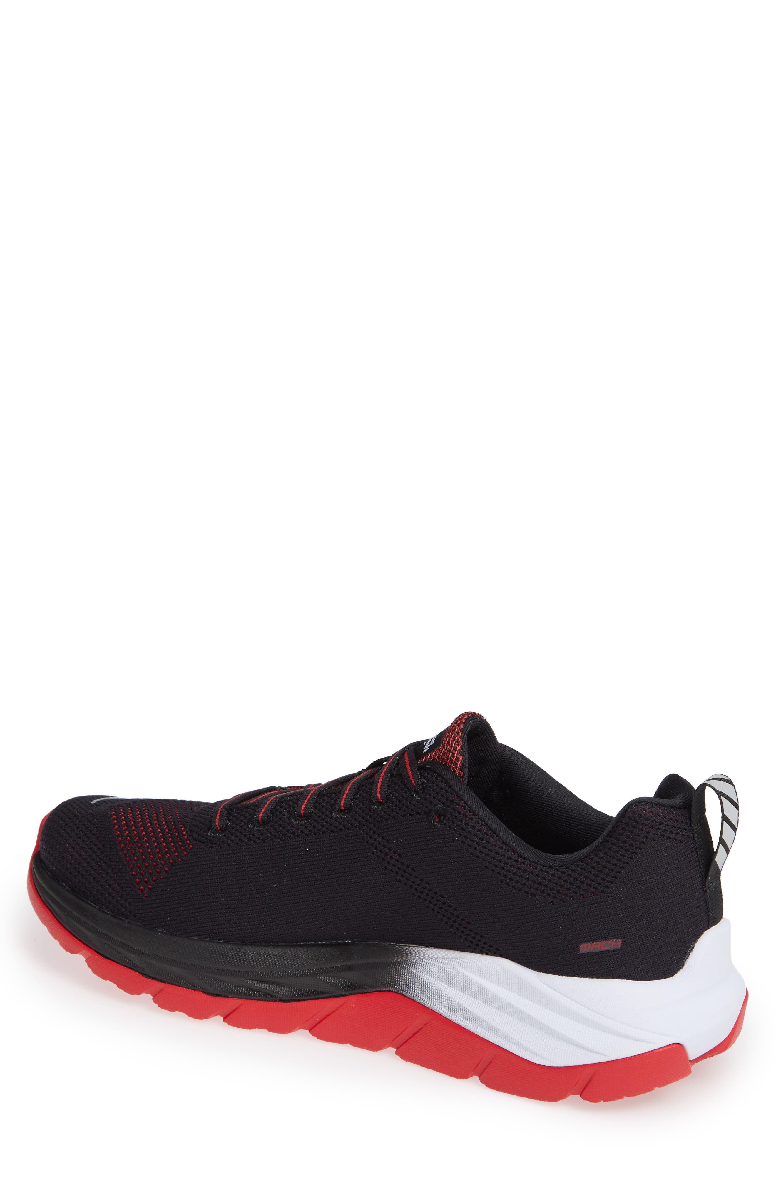 Mach Running Shoe,                             Alternate thumbnail 2, color,                             BLACK/ WHITE