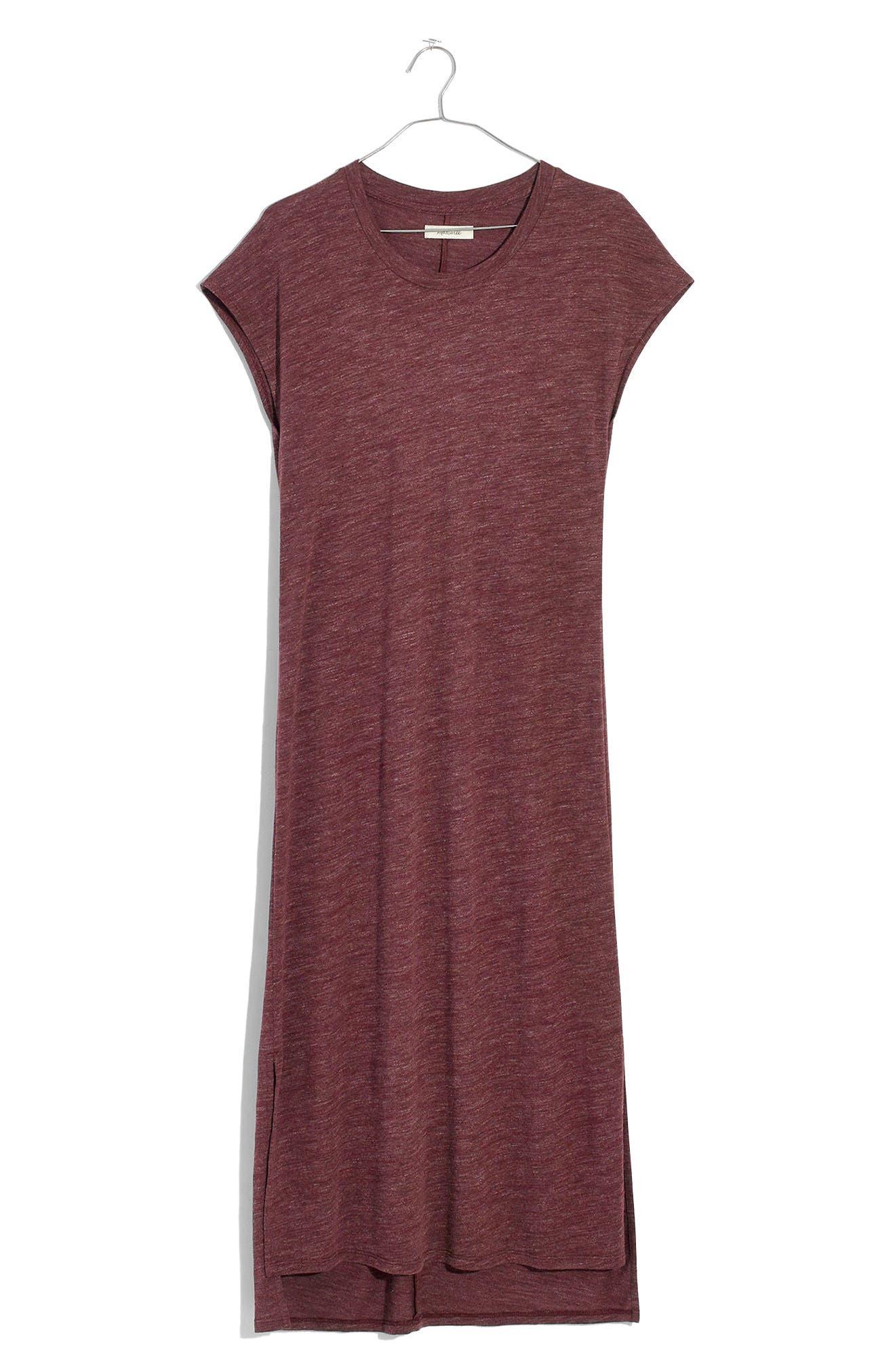 Muscle Midi Dress,                             Alternate thumbnail 6, color,