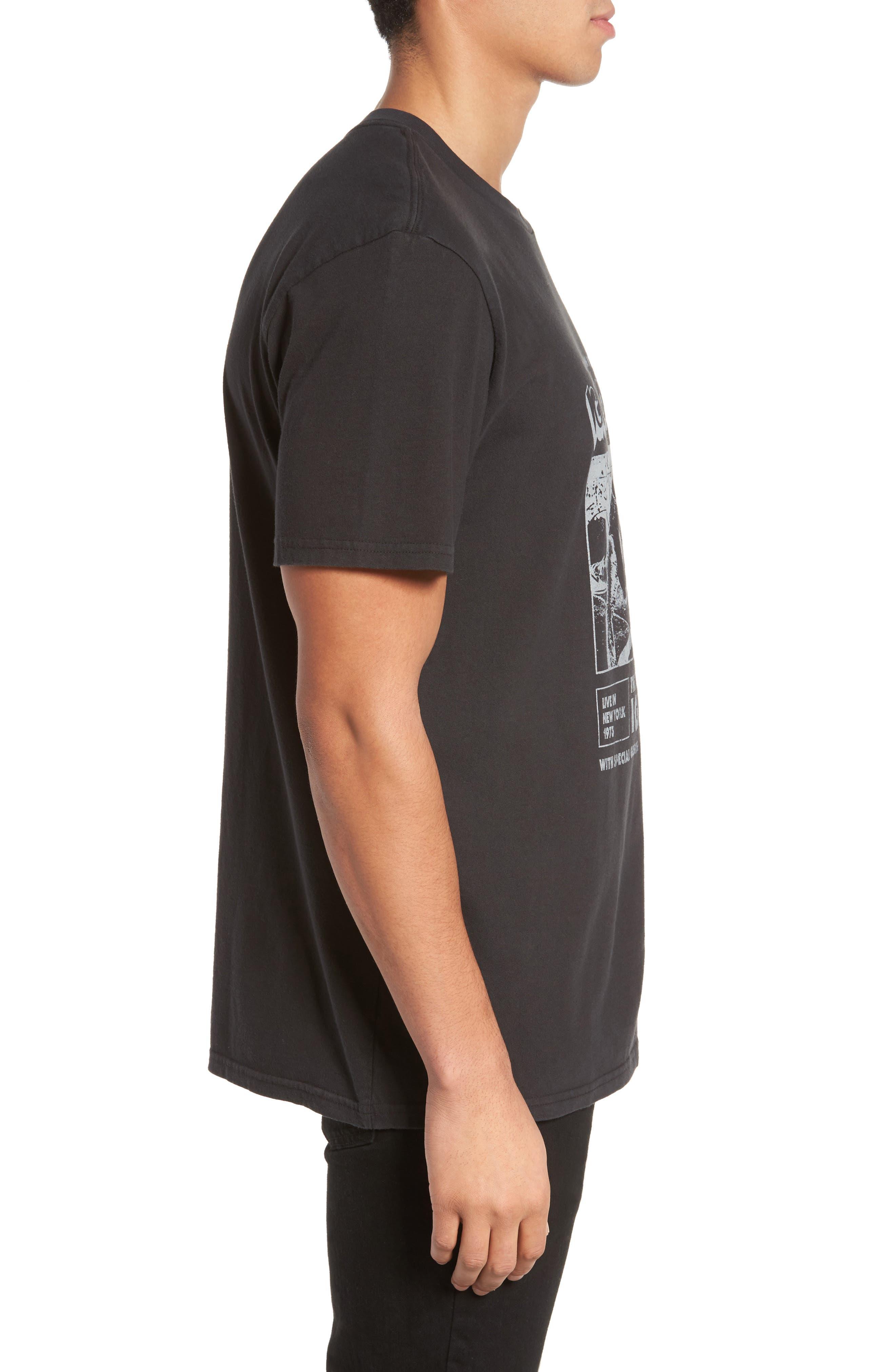 Iggy Pop x Billabong Iguana T-Shirt,                             Alternate thumbnail 3, color,                             001