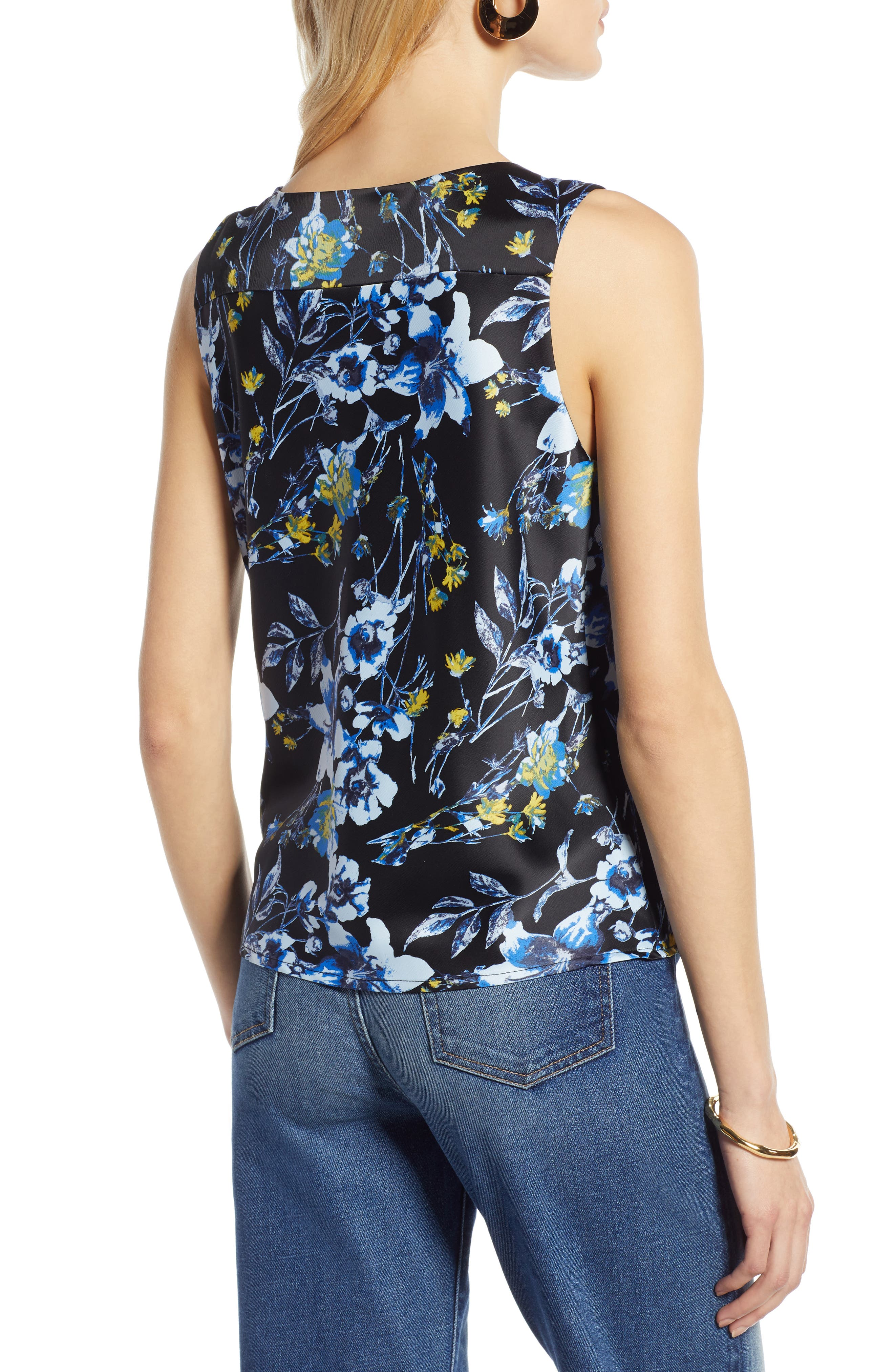 HALOGEN<SUP>®</SUP>,                             Sleeveless Top,                             Alternate thumbnail 2, color,                             002