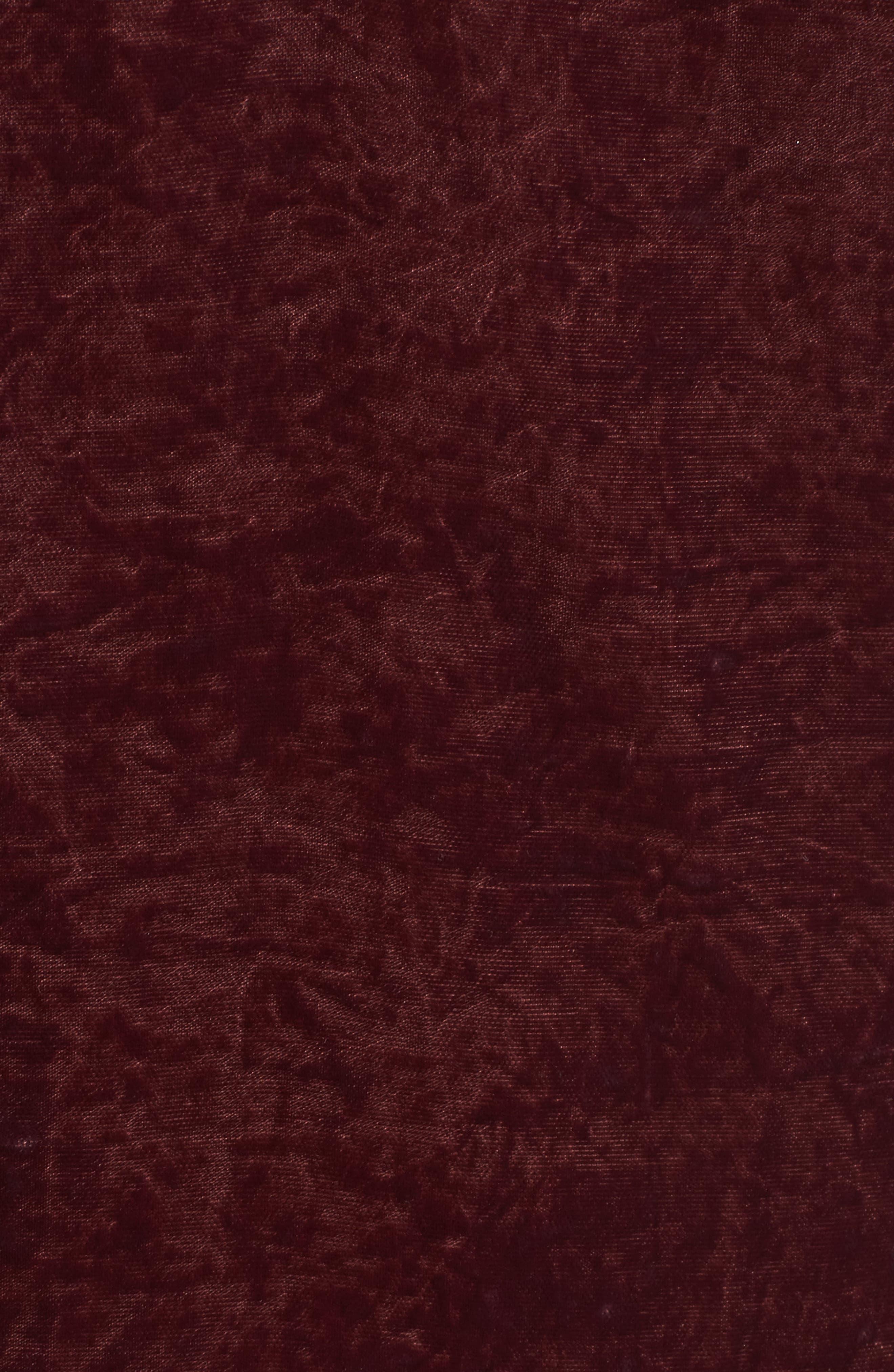 Crushed Velvet Slipdress,                             Alternate thumbnail 10, color,