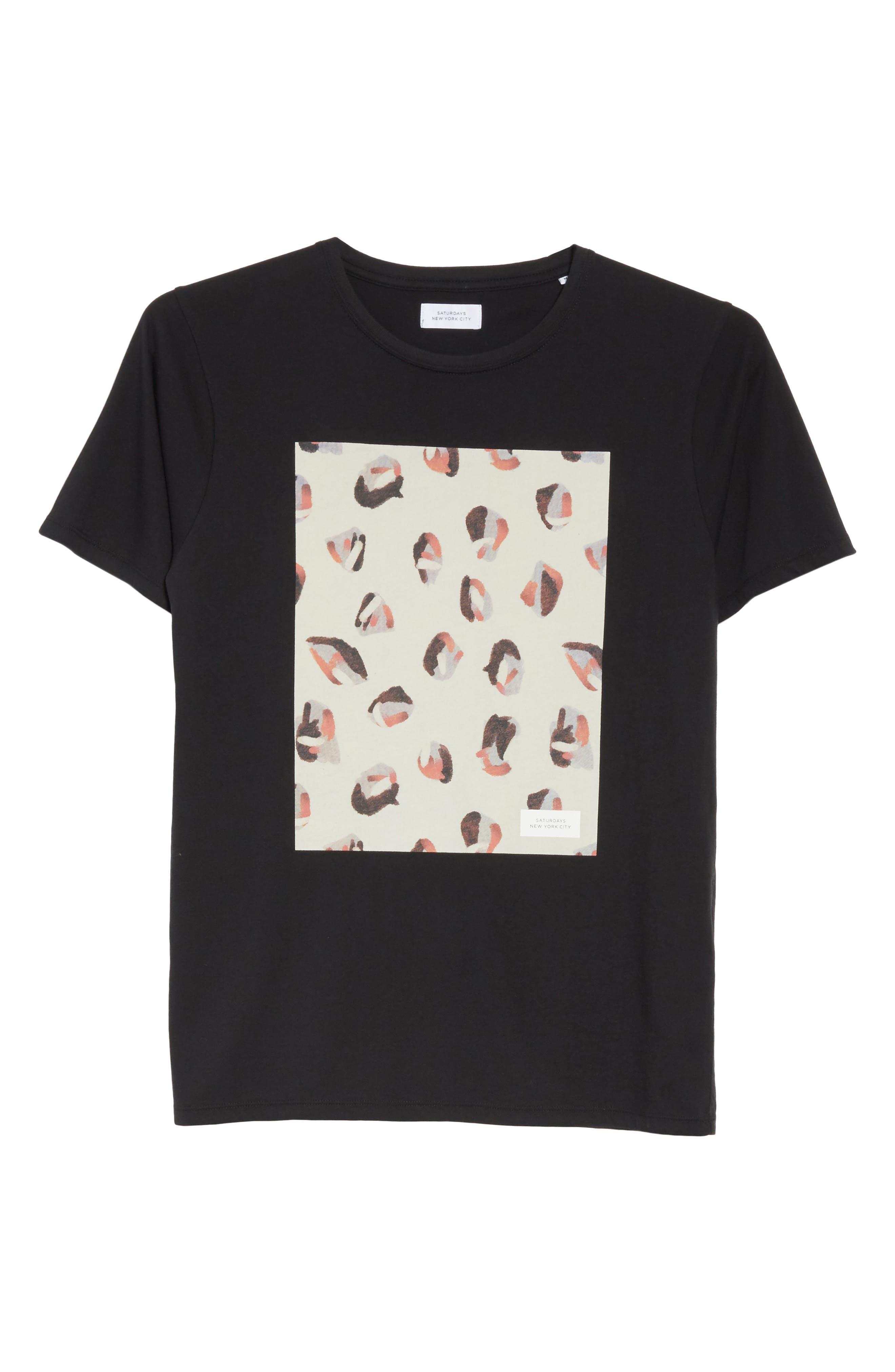 Spots Graphic T-Shirt,                             Alternate thumbnail 6, color,                             001