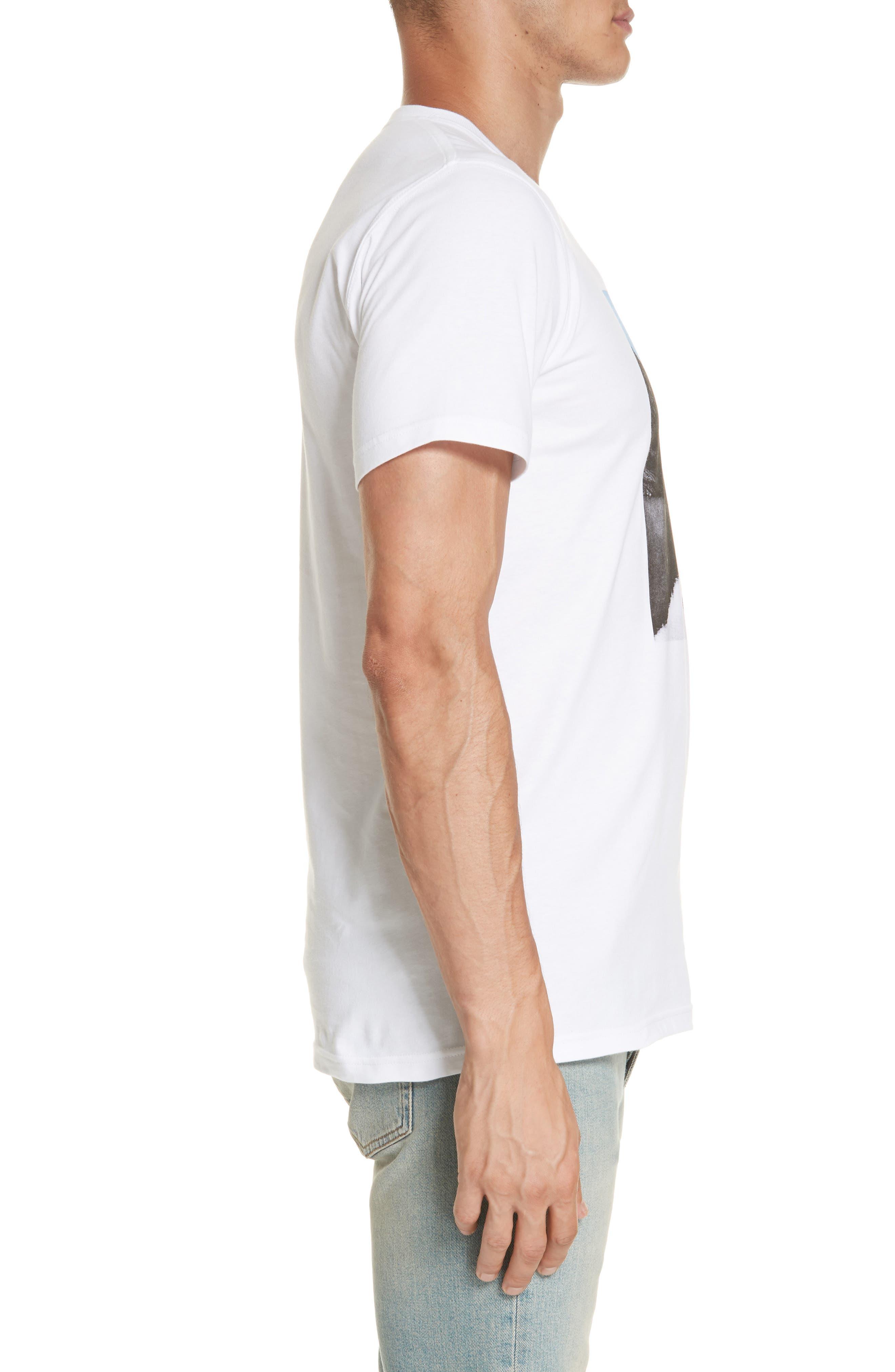 Niels Nærøyfjord Graphic T-Shirt,                             Alternate thumbnail 3, color,                             WHITE