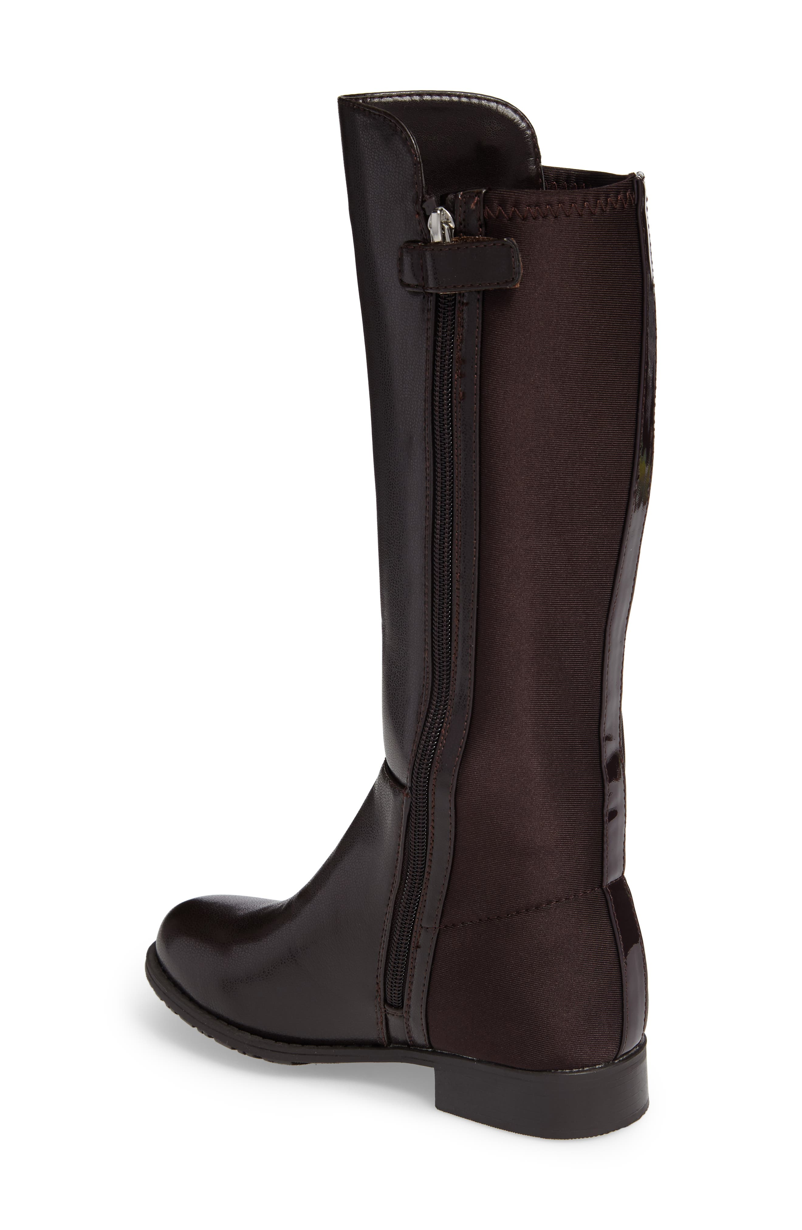 5050 Tall Riding Boot,                             Alternate thumbnail 4, color,