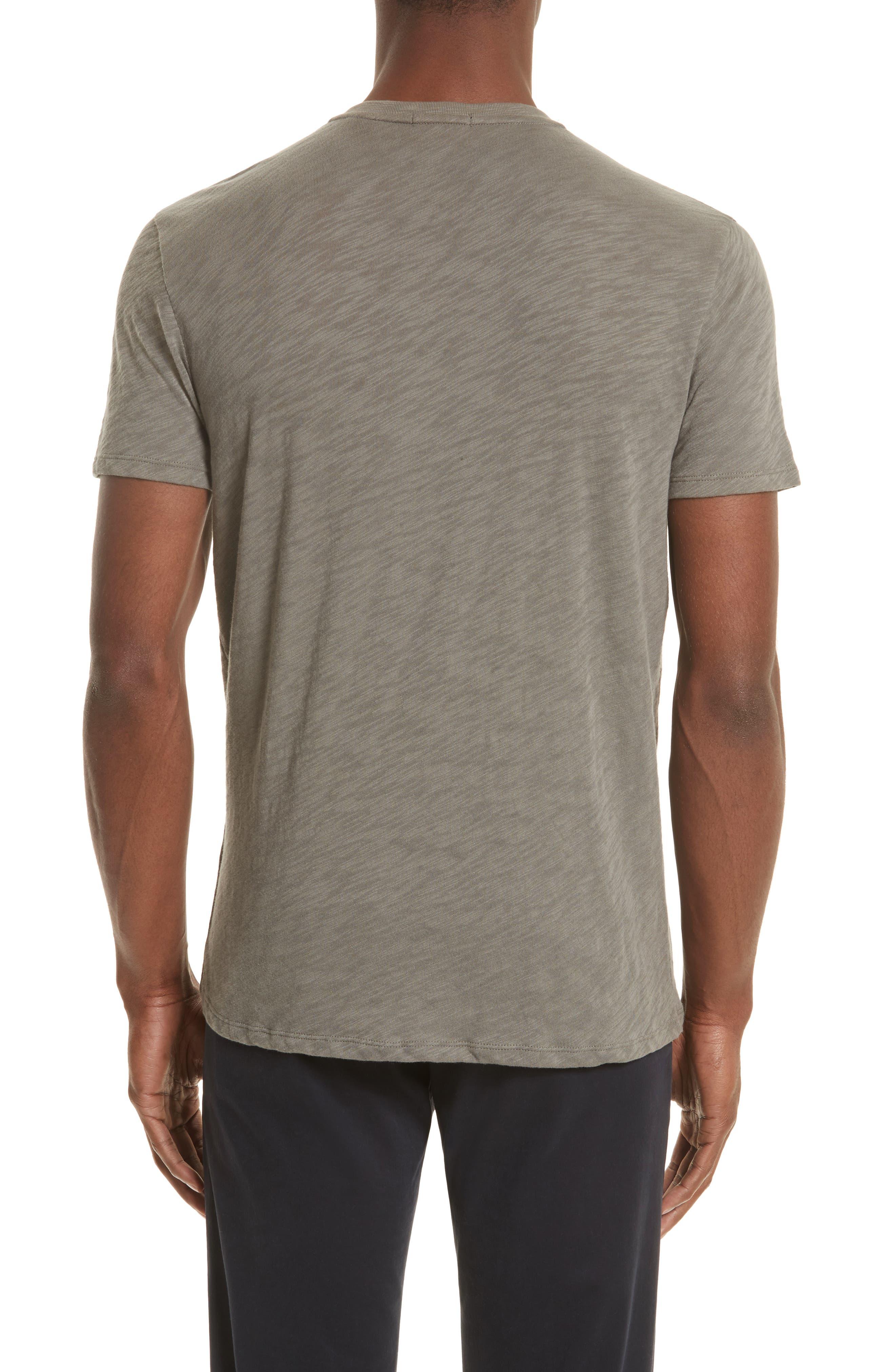 Slub V-Neck T-Shirt,                             Alternate thumbnail 2, color,                             302
