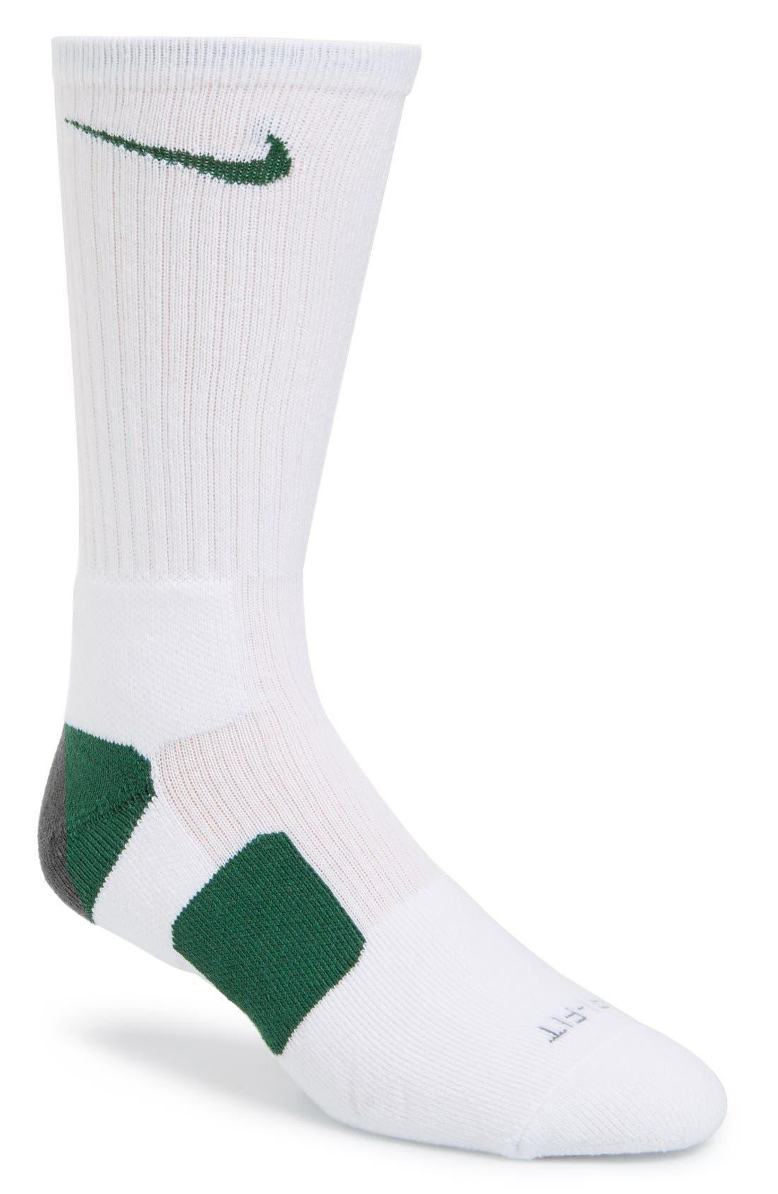 'Elite Basketball' Crew Socks,                             Main thumbnail 20, color,