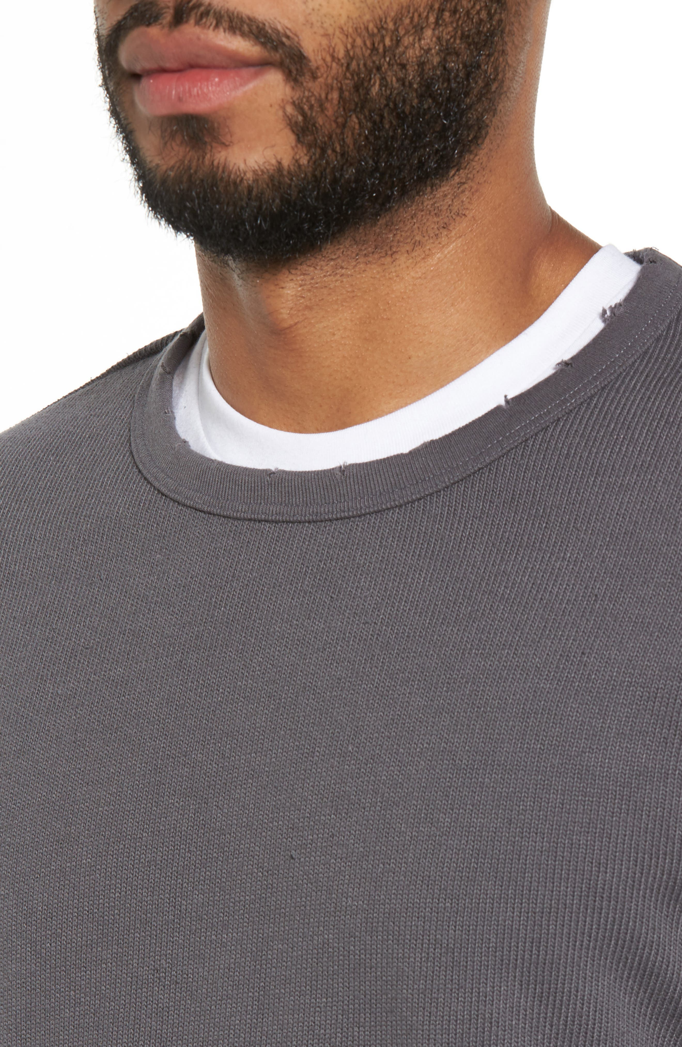 Crewneck Pullover,                             Alternate thumbnail 8, color,