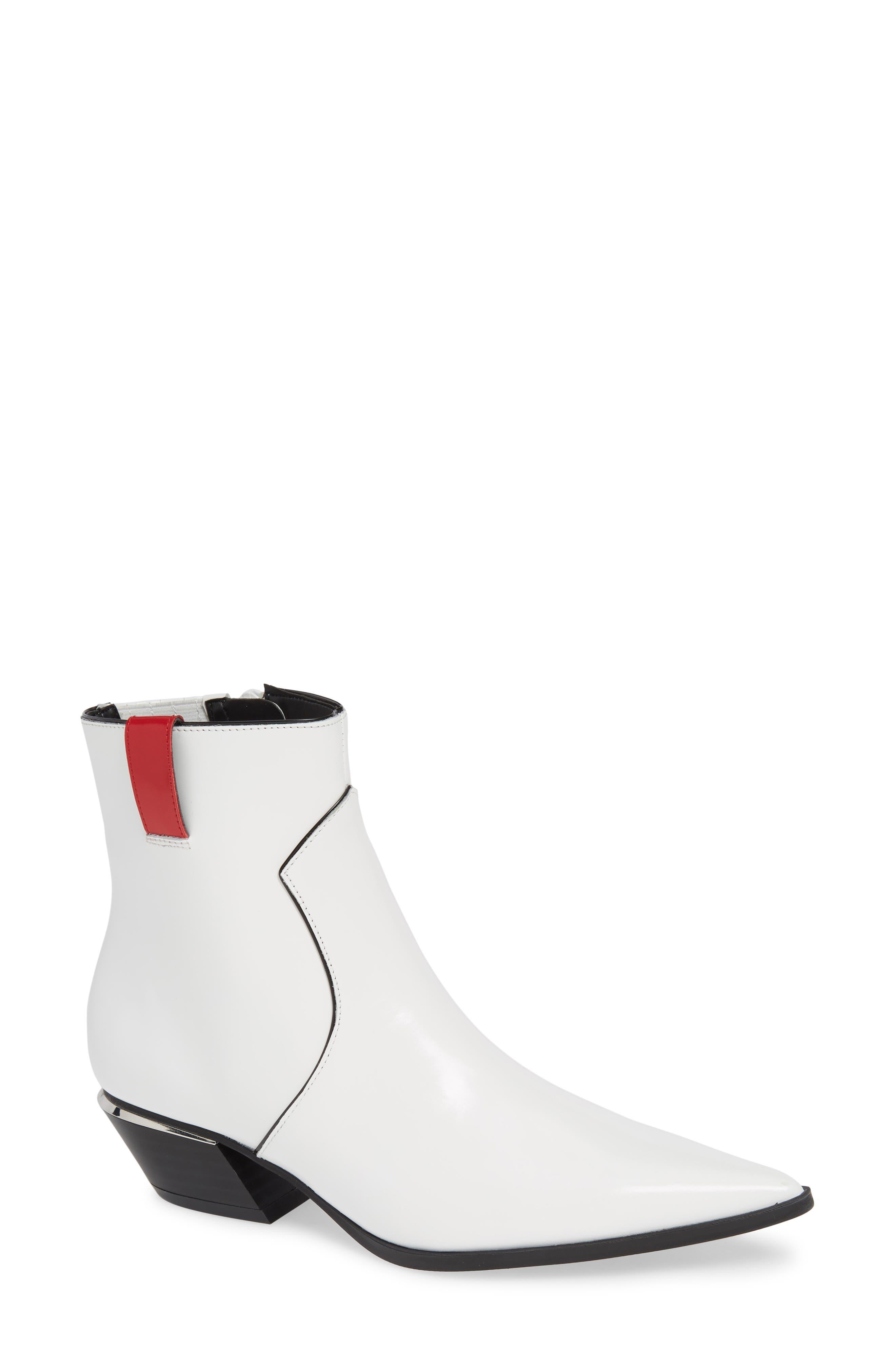 Calvin Klein Nanuka Bootie, White