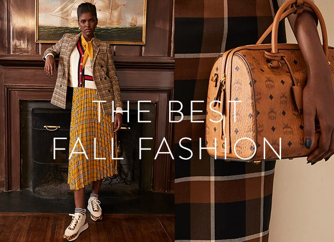 The best fall fashion.