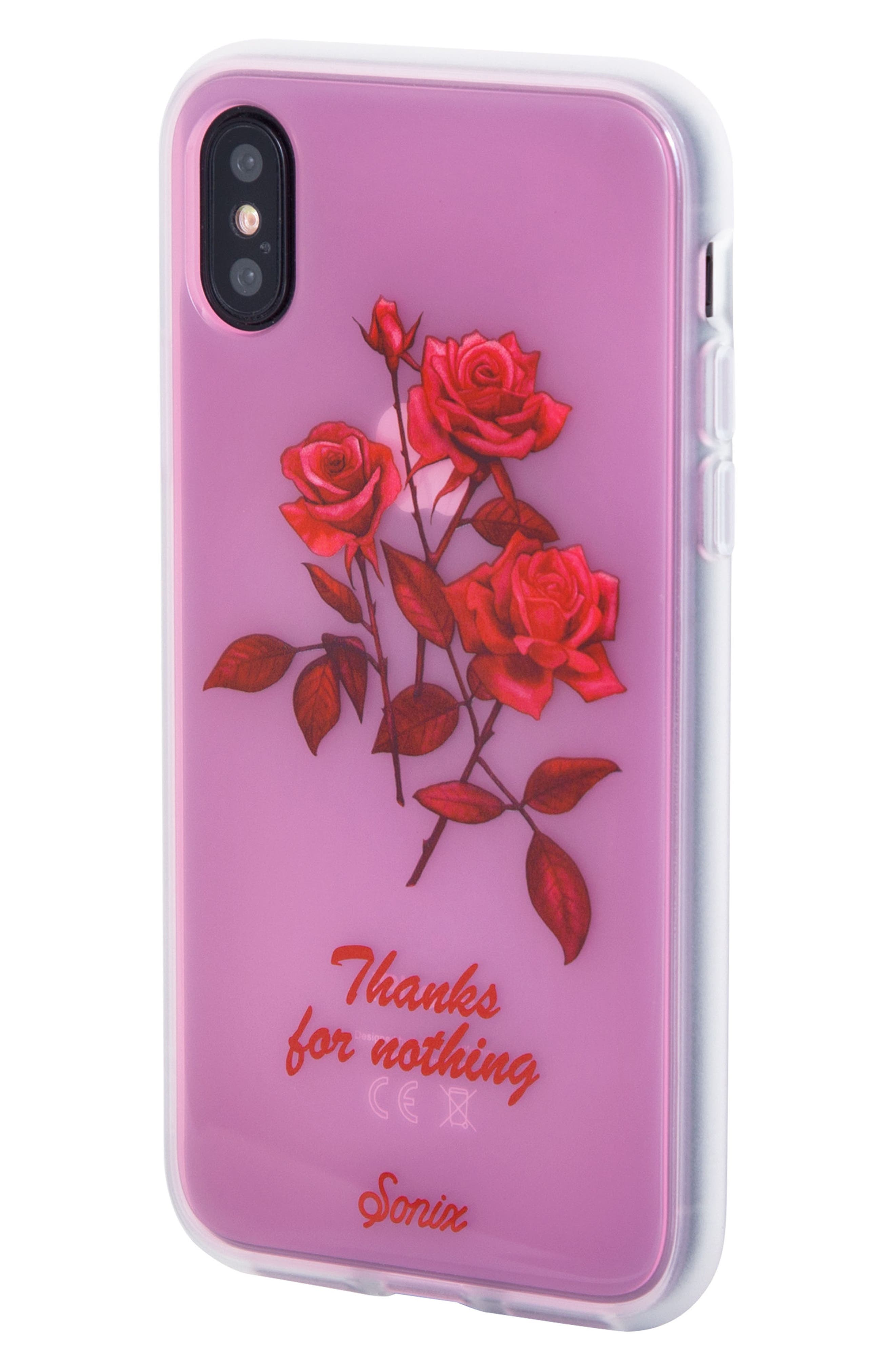 Thanks for Nothing iPhone X & Xs Case,                             Alternate thumbnail 2, color,                             650