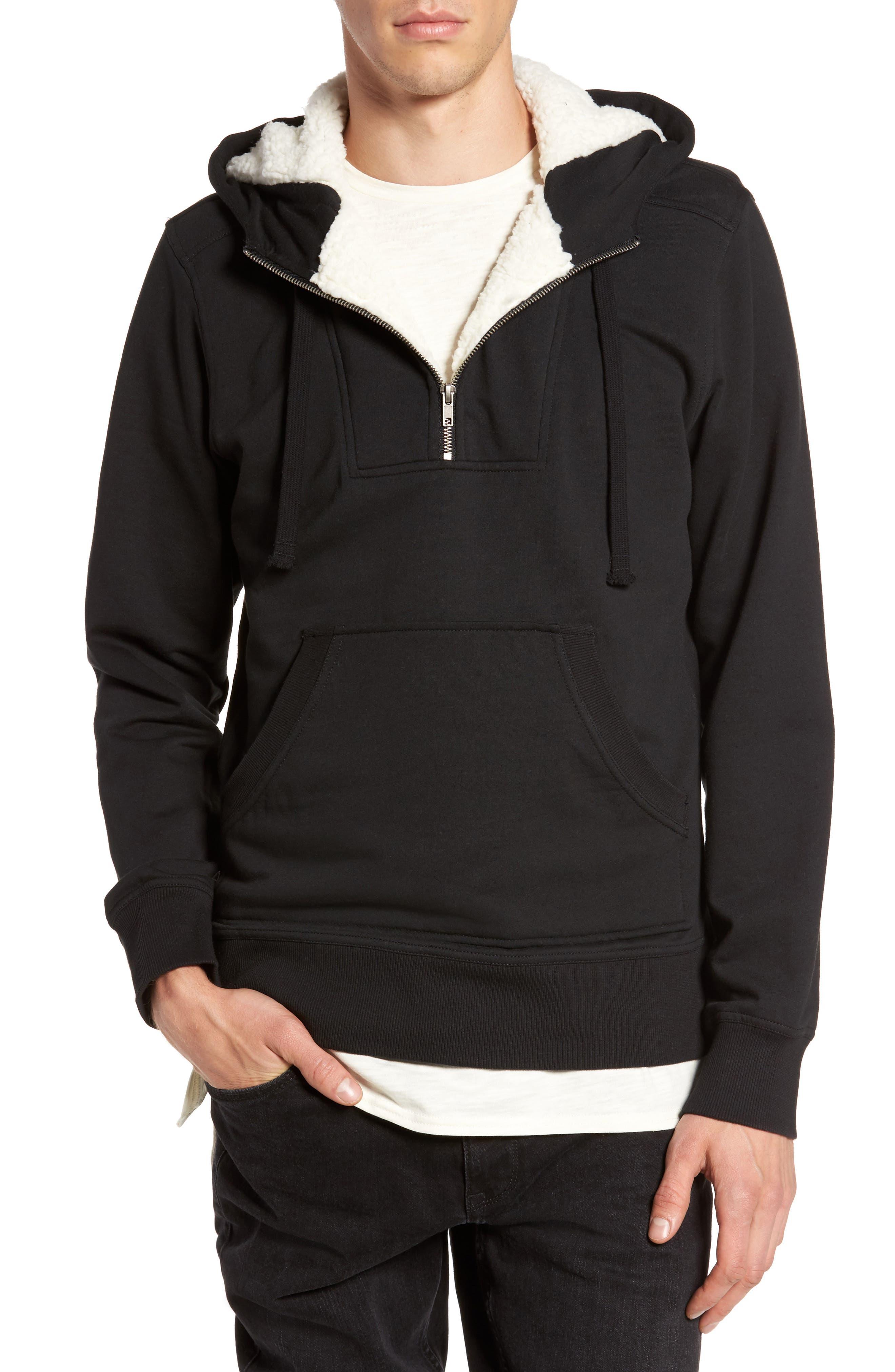 Fleece Lined Hoodie,                         Main,                         color, 001