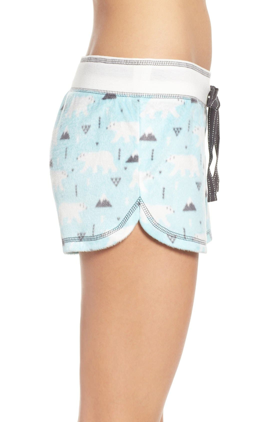 Polar Fleece Shorts,                             Alternate thumbnail 21, color,