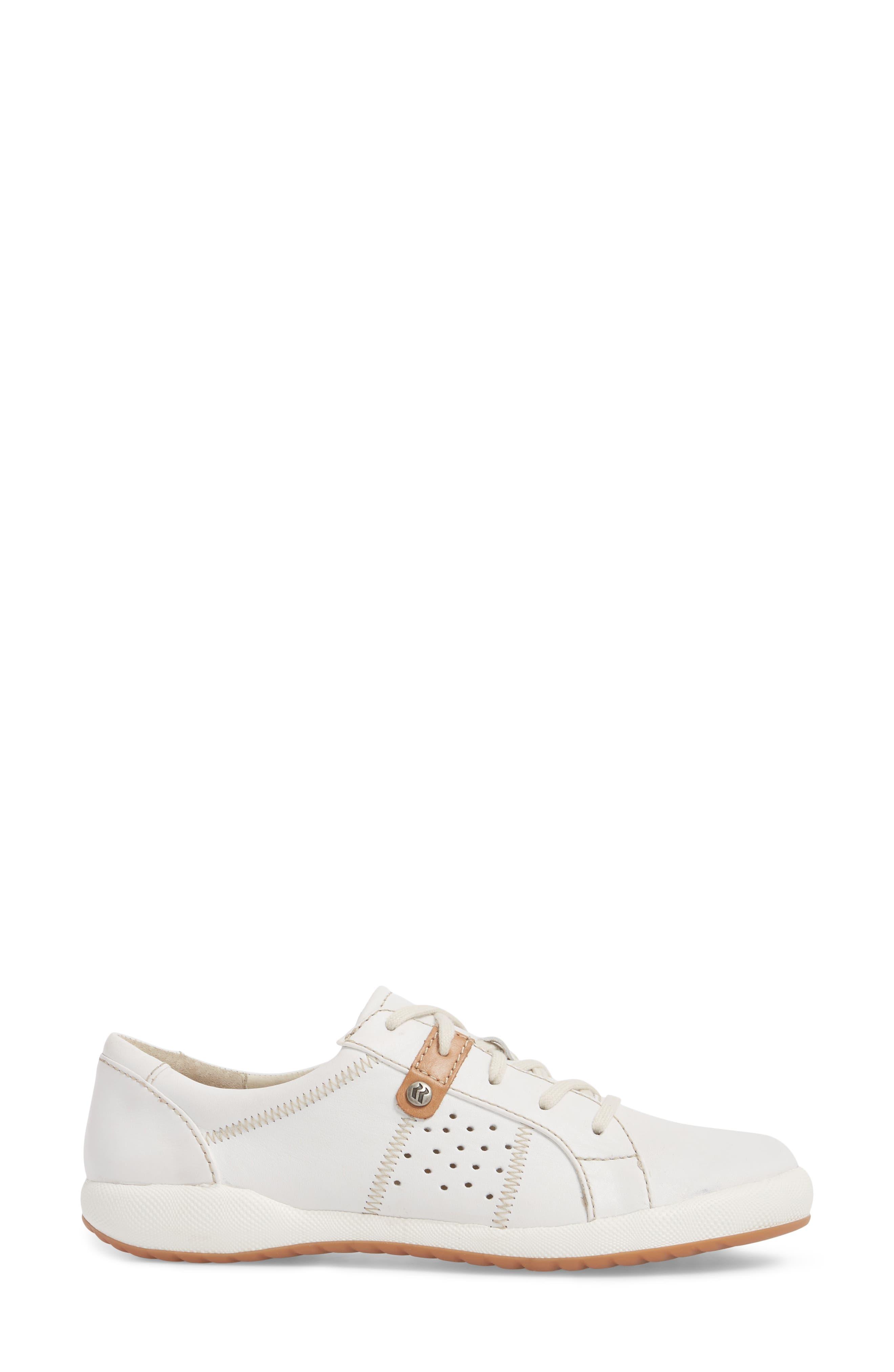 Cordoba 01 Sneaker,                             Alternate thumbnail 3, color,                             WHITE LEATHER