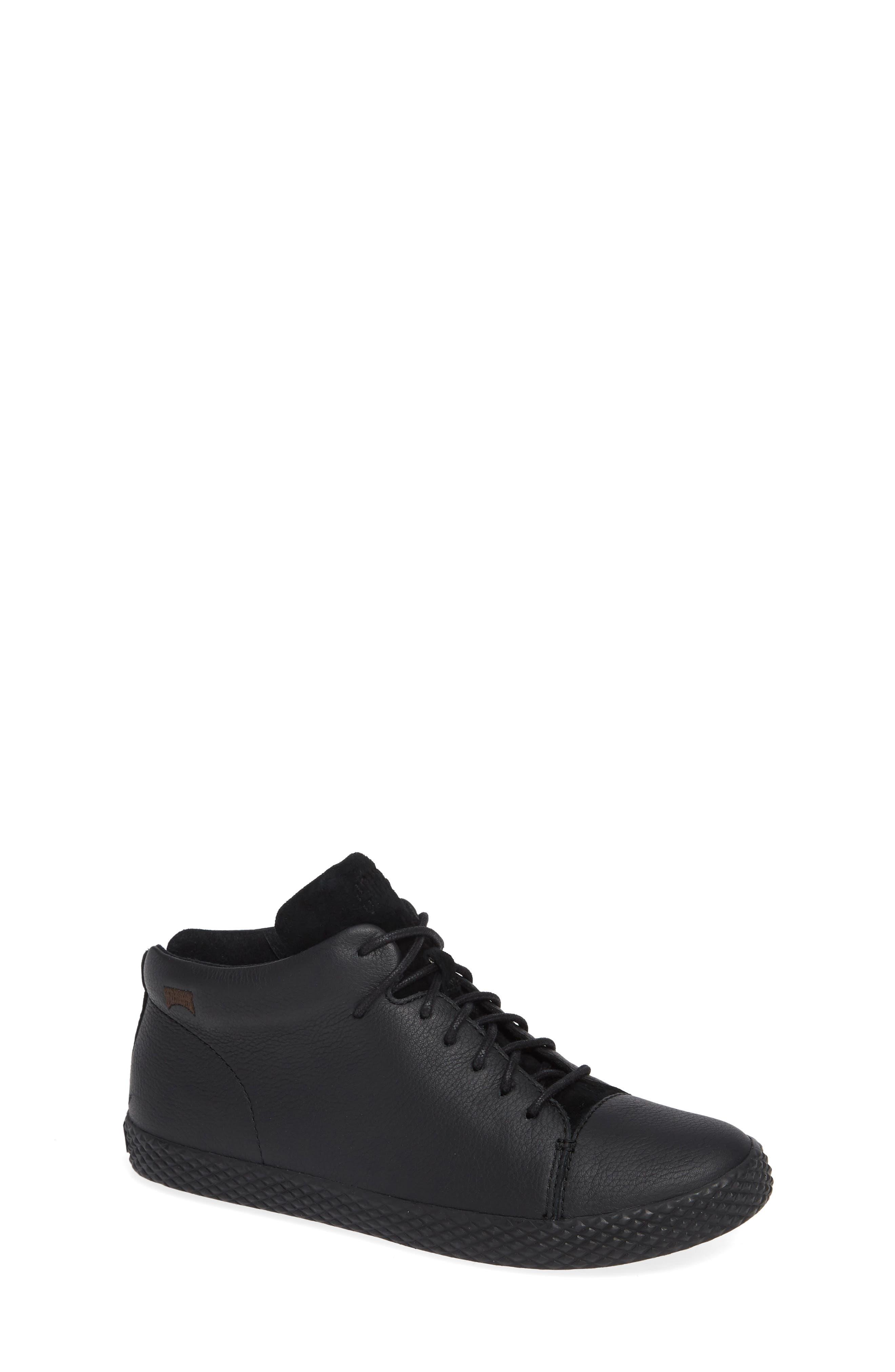 Pursuit Sneaker,                         Main,                         color, BLACK