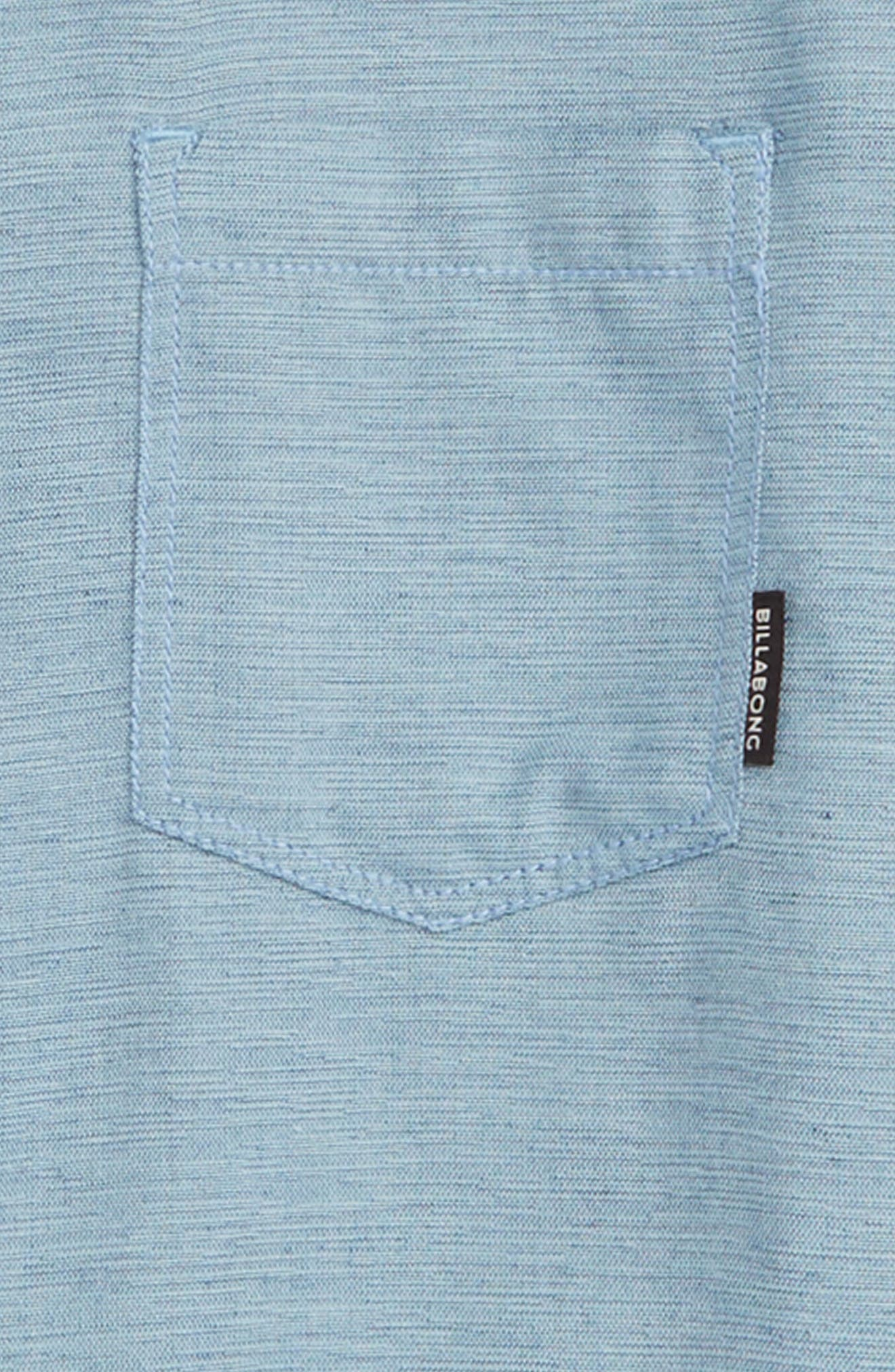 All Day Helix Woven Shirt,                             Alternate thumbnail 2, color,                             WASHED BLUE