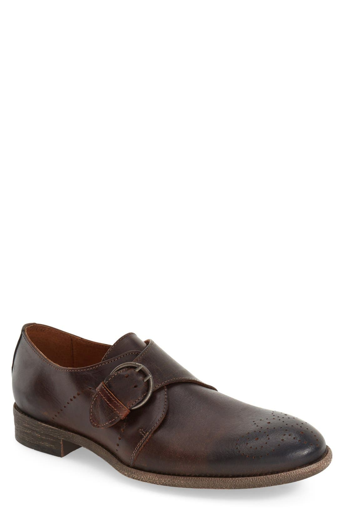 'Montana' Monk Strap Shoe, Main, color, 201