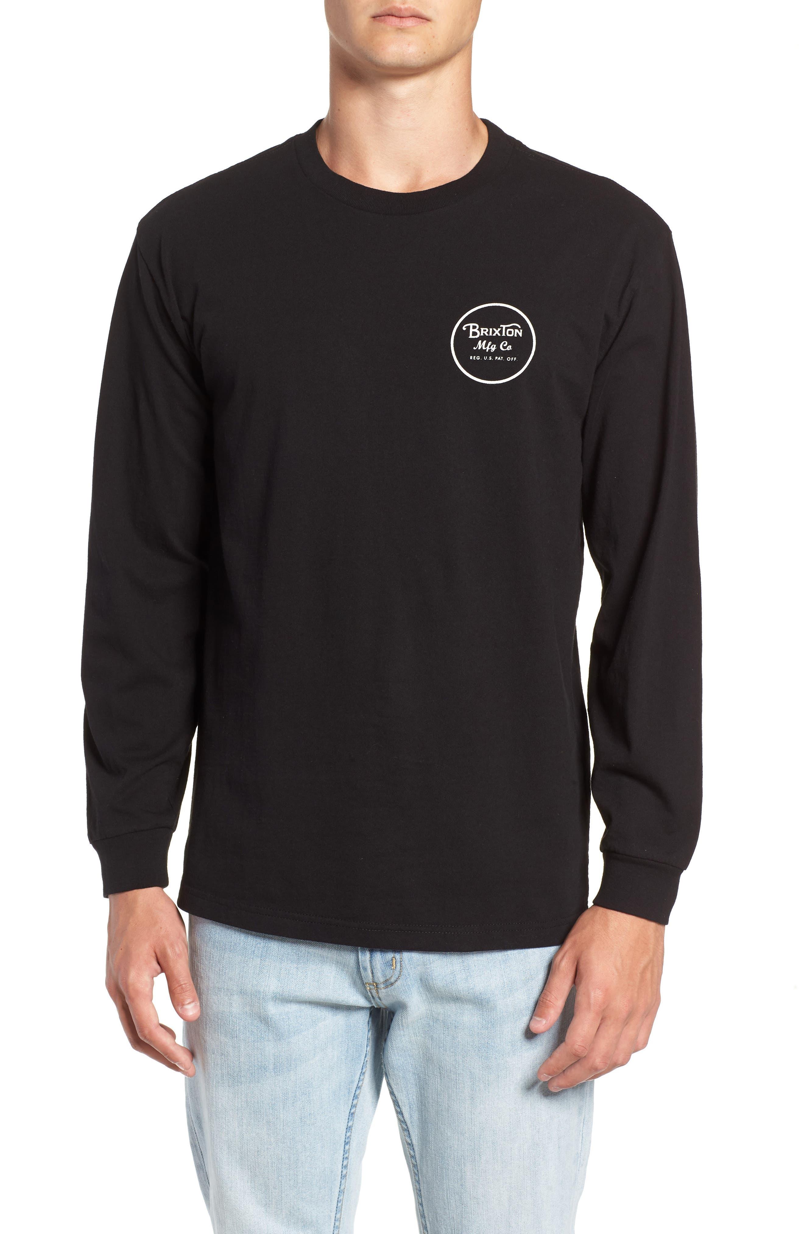 Wheeler II T-Shirt,                             Main thumbnail 1, color,                             BLACK