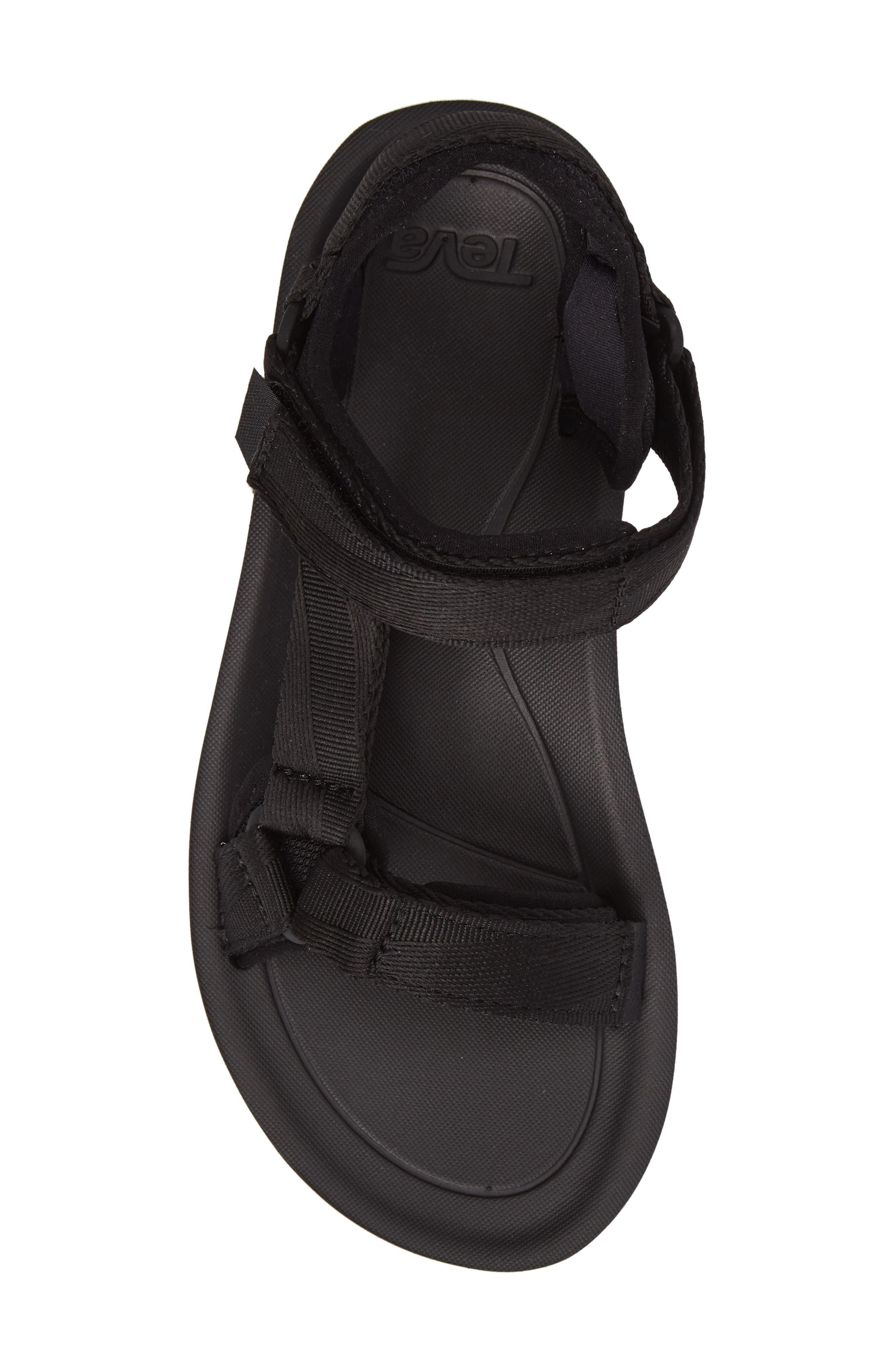 Original Universal Premier Sandal,                             Alternate thumbnail 5, color,                             BLACK FABRIC