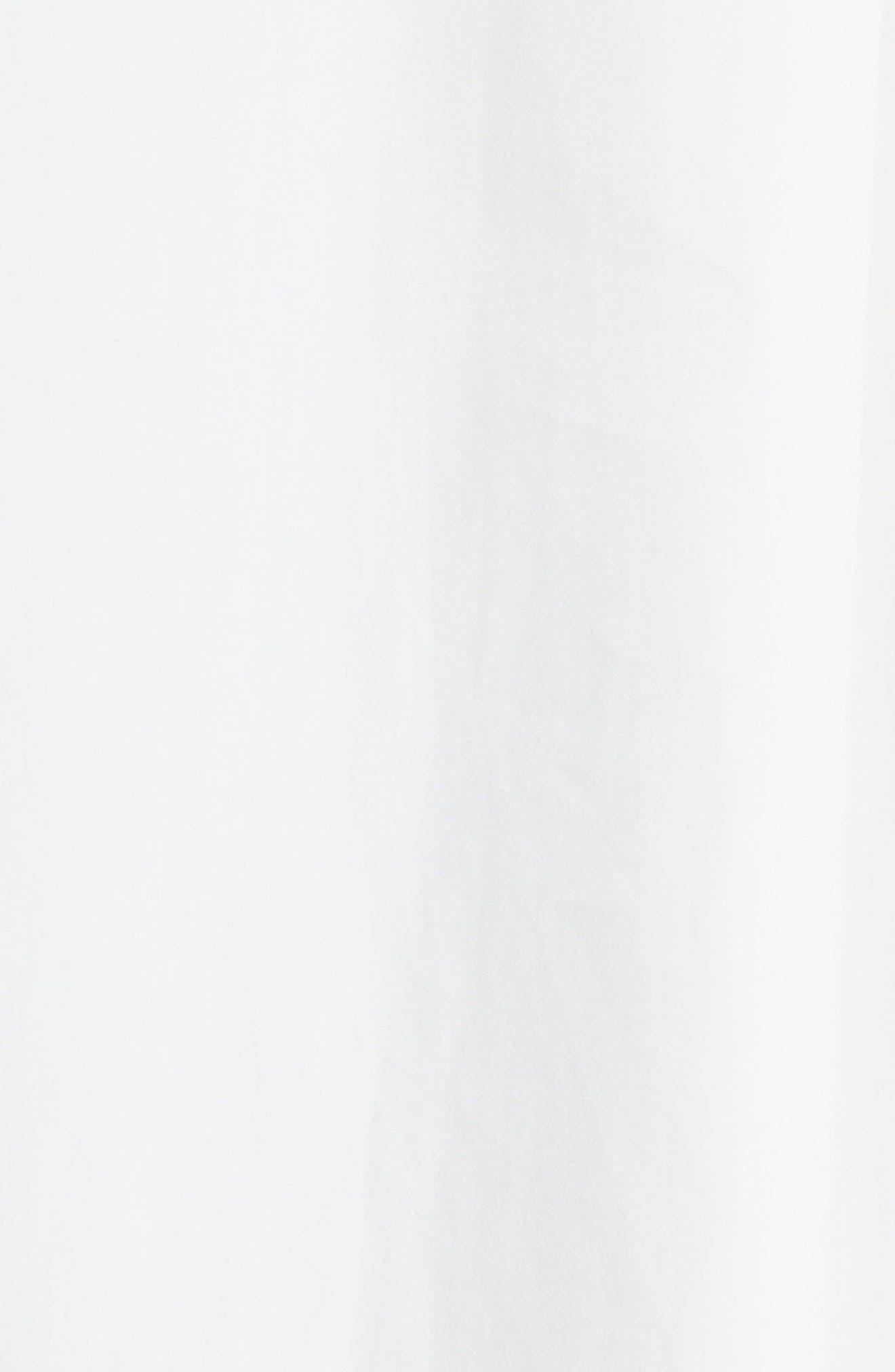Akano Drape Front Twill Top,                             Alternate thumbnail 5, color,                             900