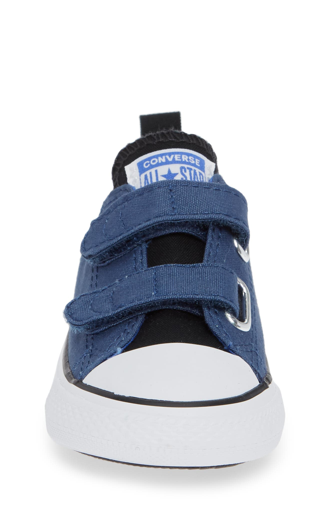 Chuck Taylor<sup>®</sup> 'Double Strap' Sneaker,                             Alternate thumbnail 4, color,                             MASON BLUE