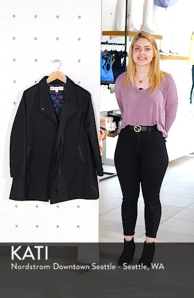 Tenley Asymmetrical Collar Coat, sales video thumbnail