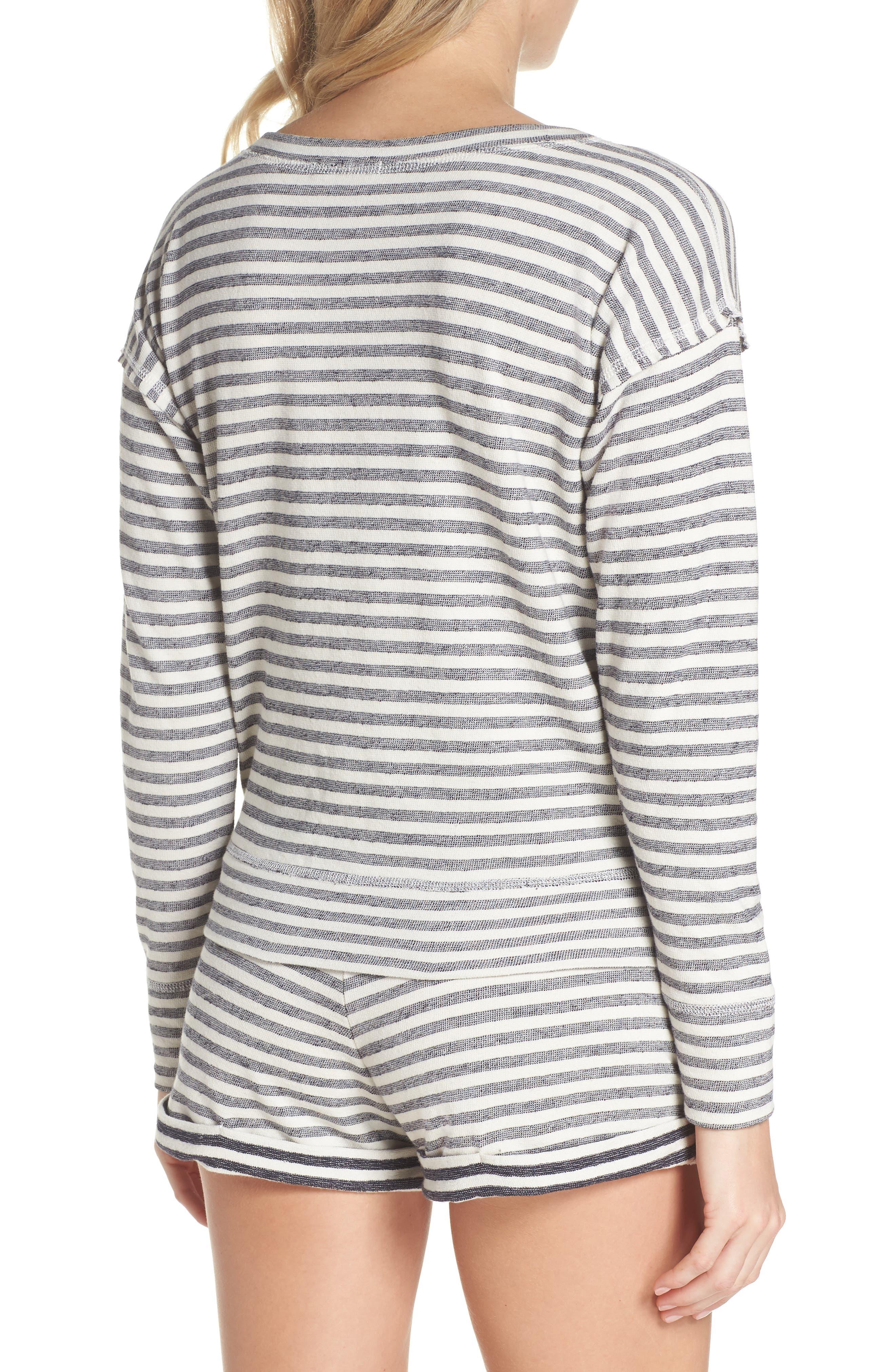 Charlie Stripe Sweatshirt,                             Alternate thumbnail 2, color,                             400