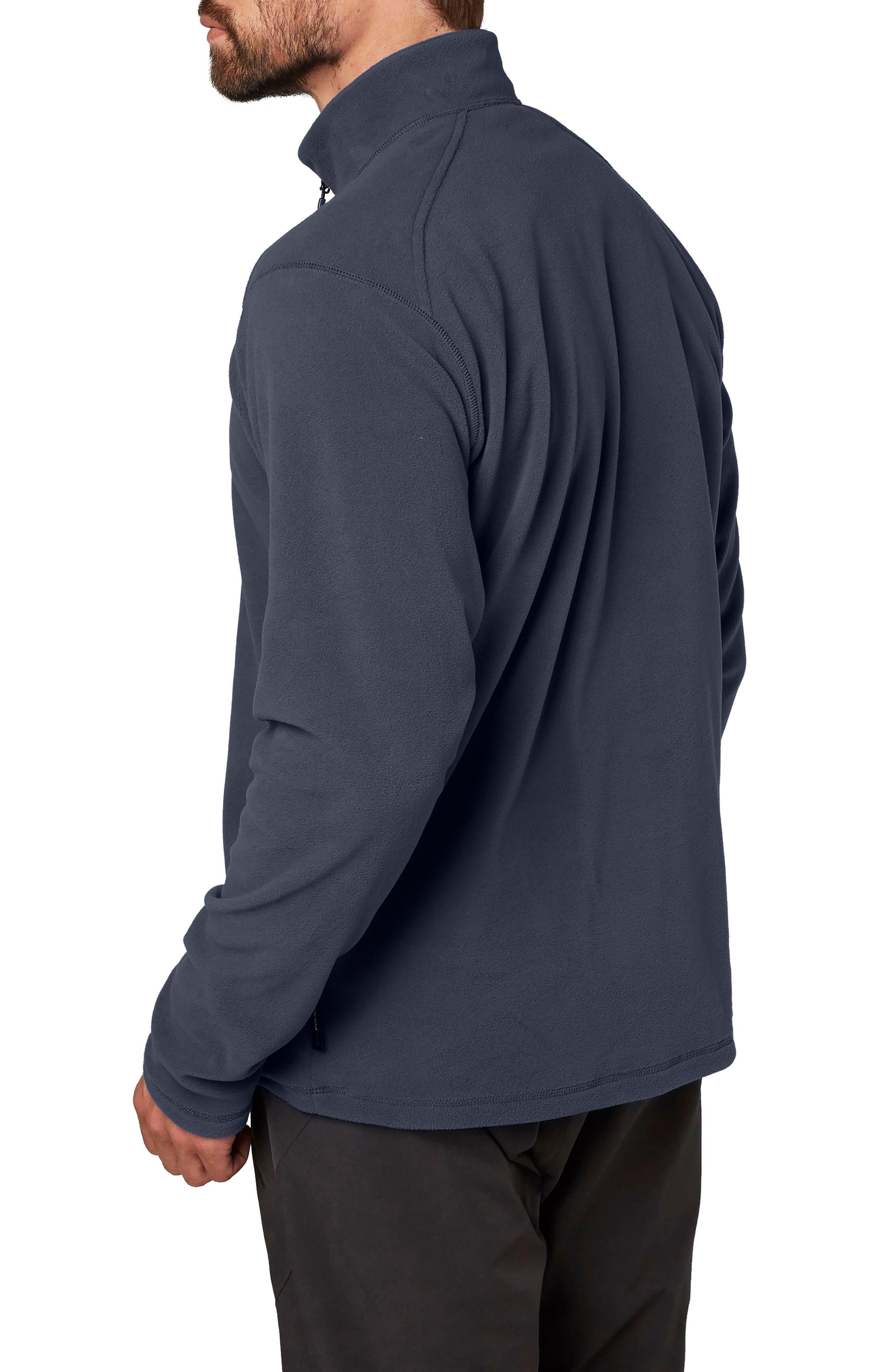 HellyHansen 'Daybreaker' Half Zip Fleece Jacket,                             Alternate thumbnail 2, color,                             400