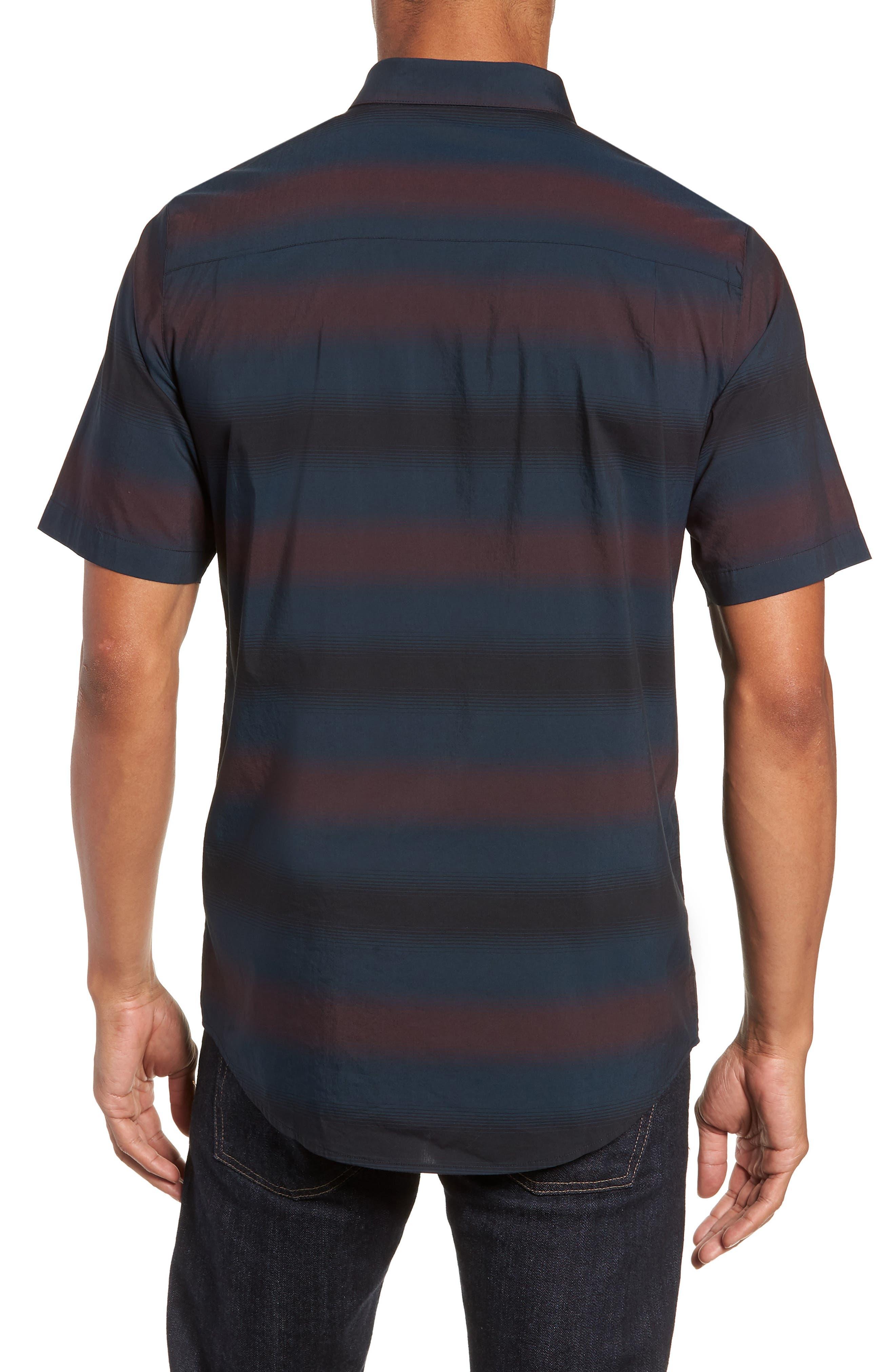Magic Castle Regular Fit Sport Shirt,                             Alternate thumbnail 3, color,                             BLUE WING TEAL
