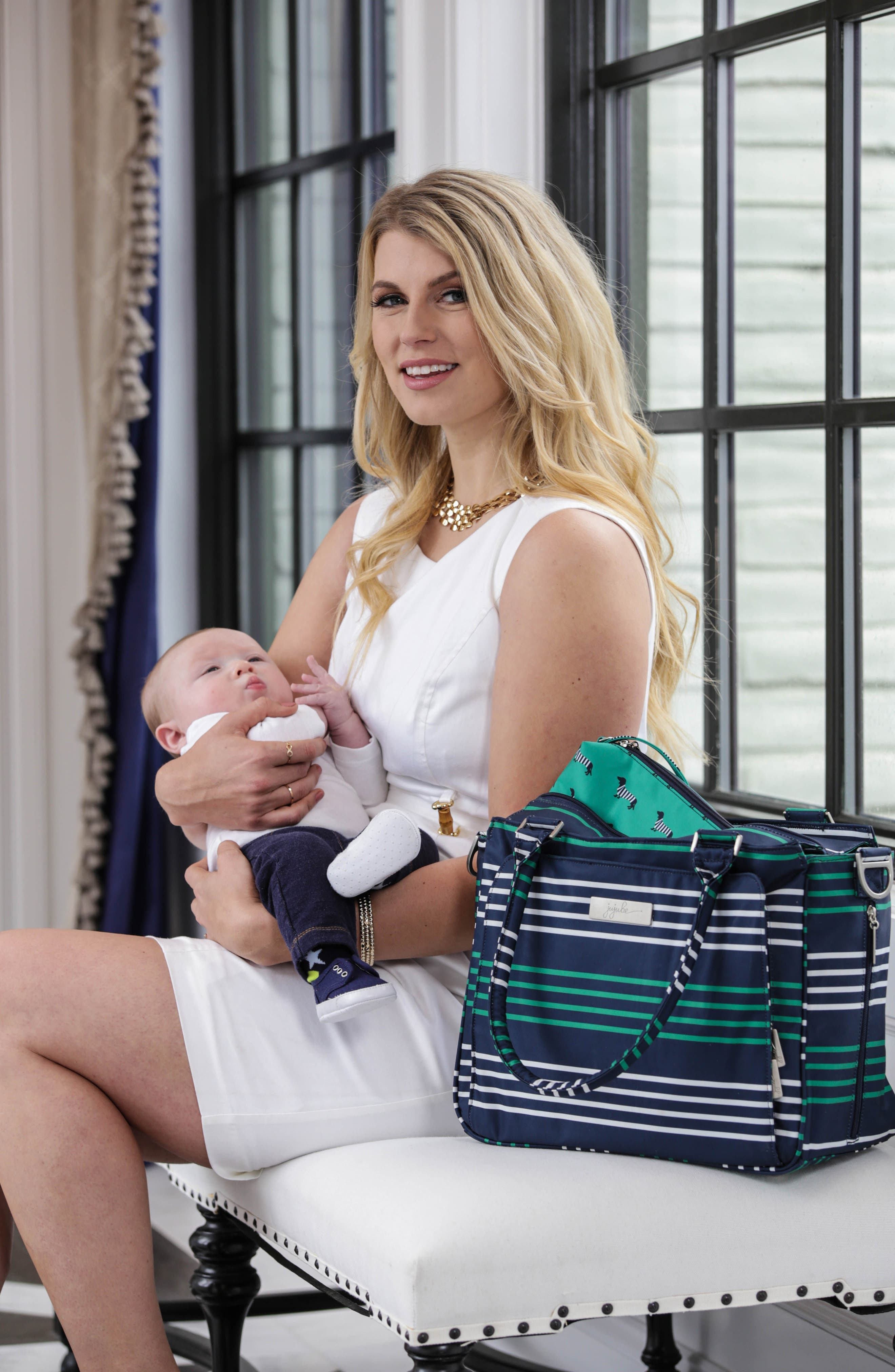 Be Classy - Coastal Collection Diaper Bag,                             Alternate thumbnail 23, color,