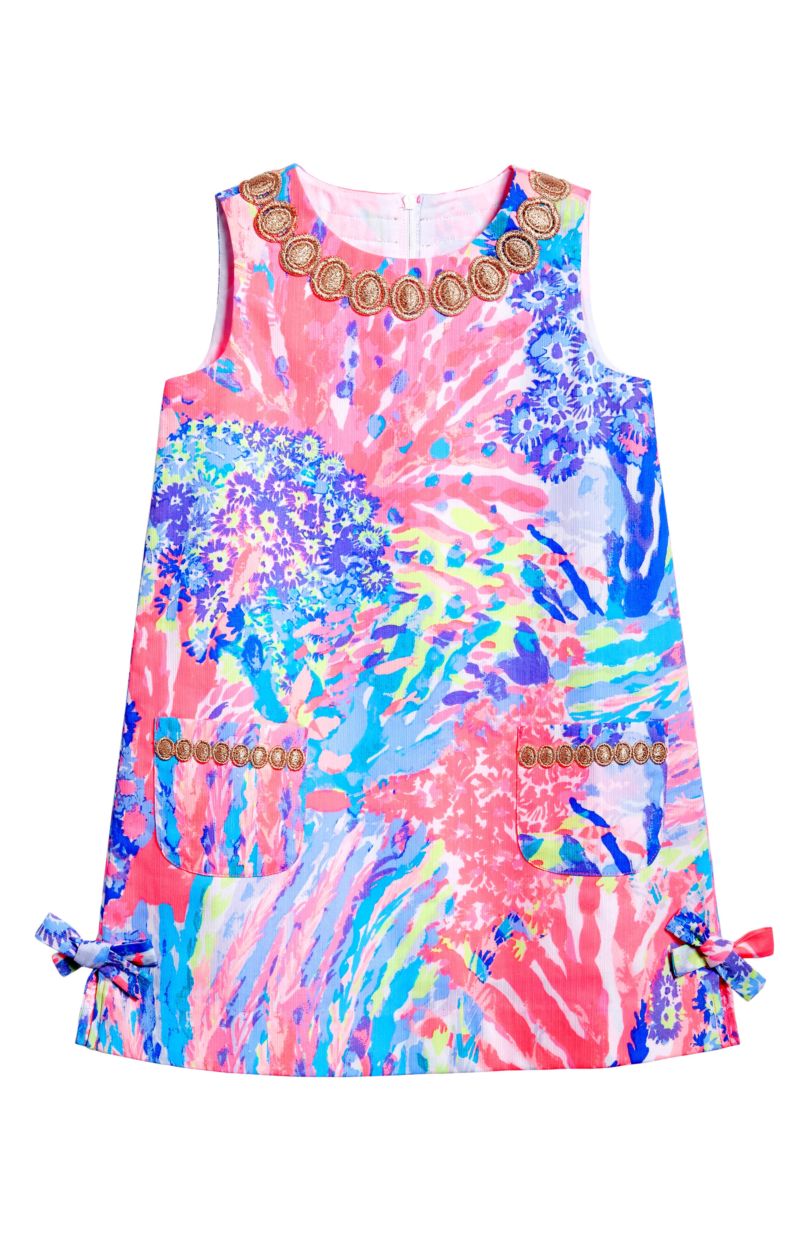 Little Lilly Shift Dress,                         Main,                         color, 659