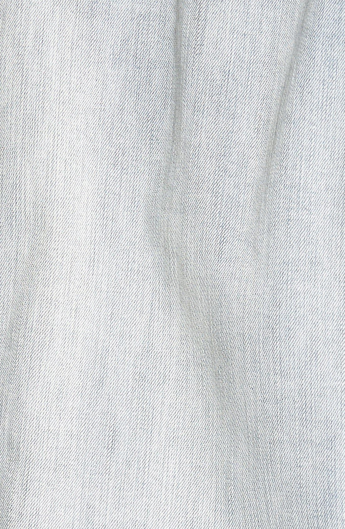 'Helena' Denim Jacket,                             Alternate thumbnail 3, color,                             SWEET