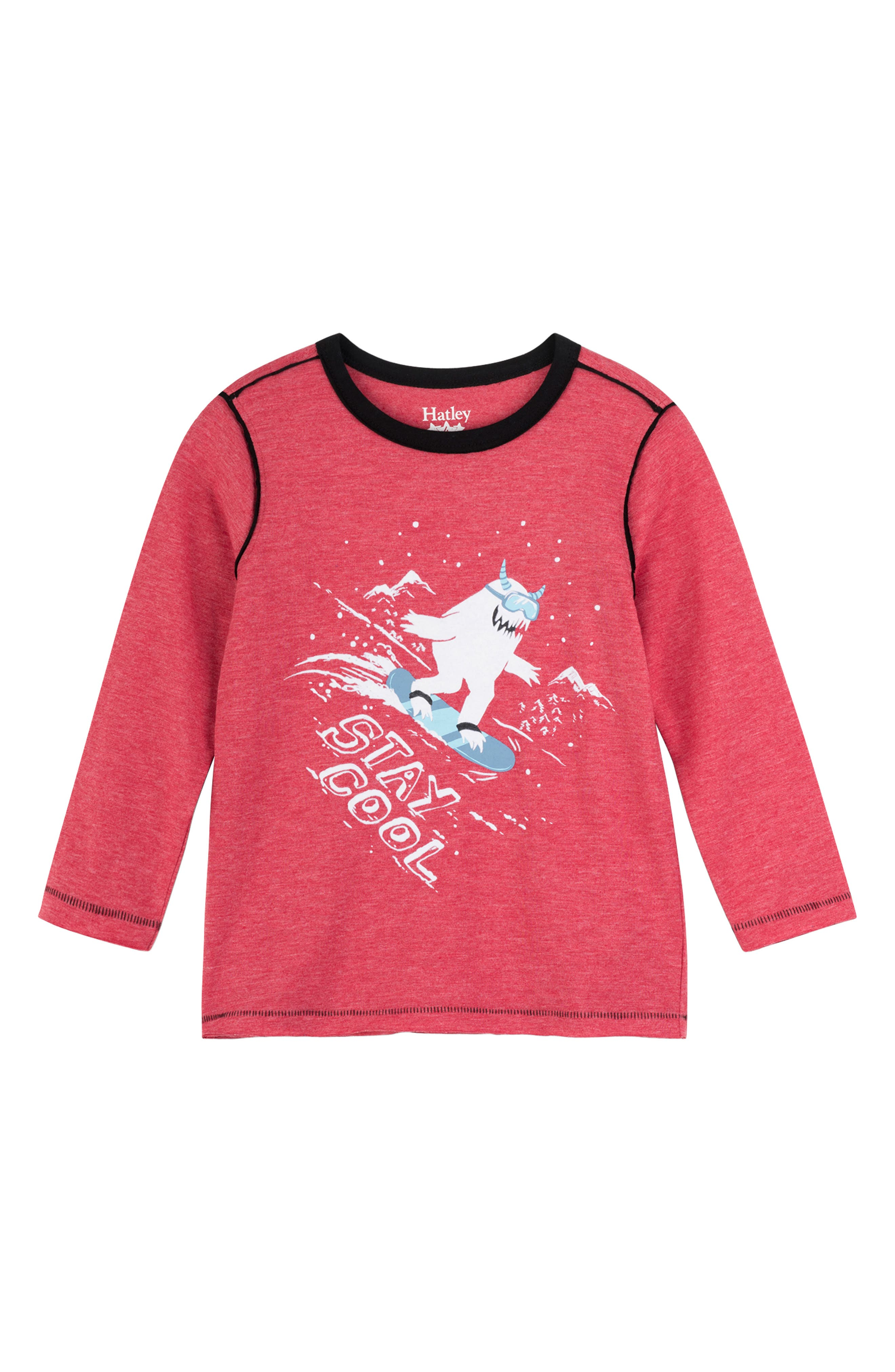 Long Sleeve T-Shirt,                         Main,                         color, STAY COOL