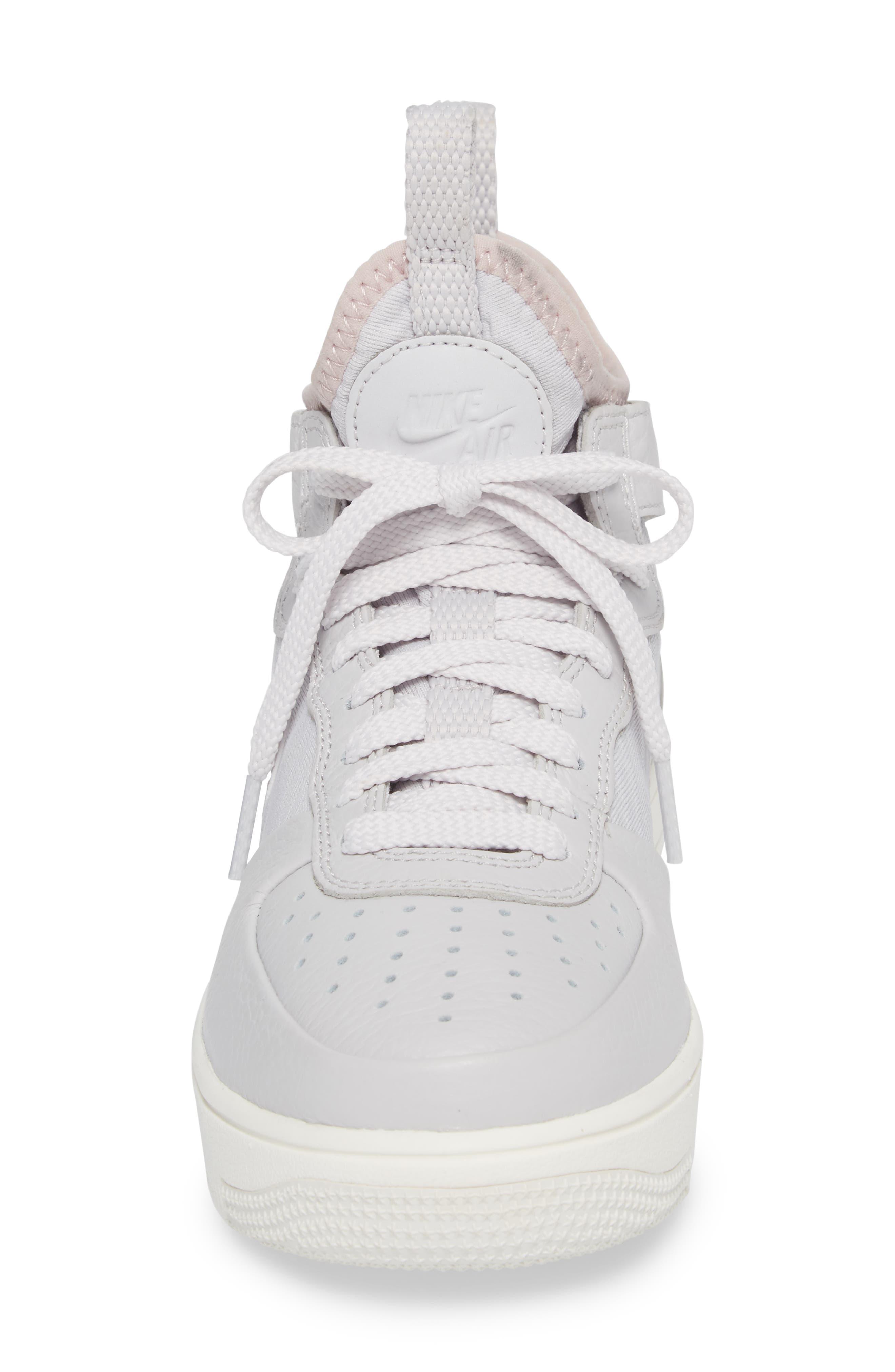 Air Force 1 Ultraforce Mid Sneaker,                             Alternate thumbnail 8, color,