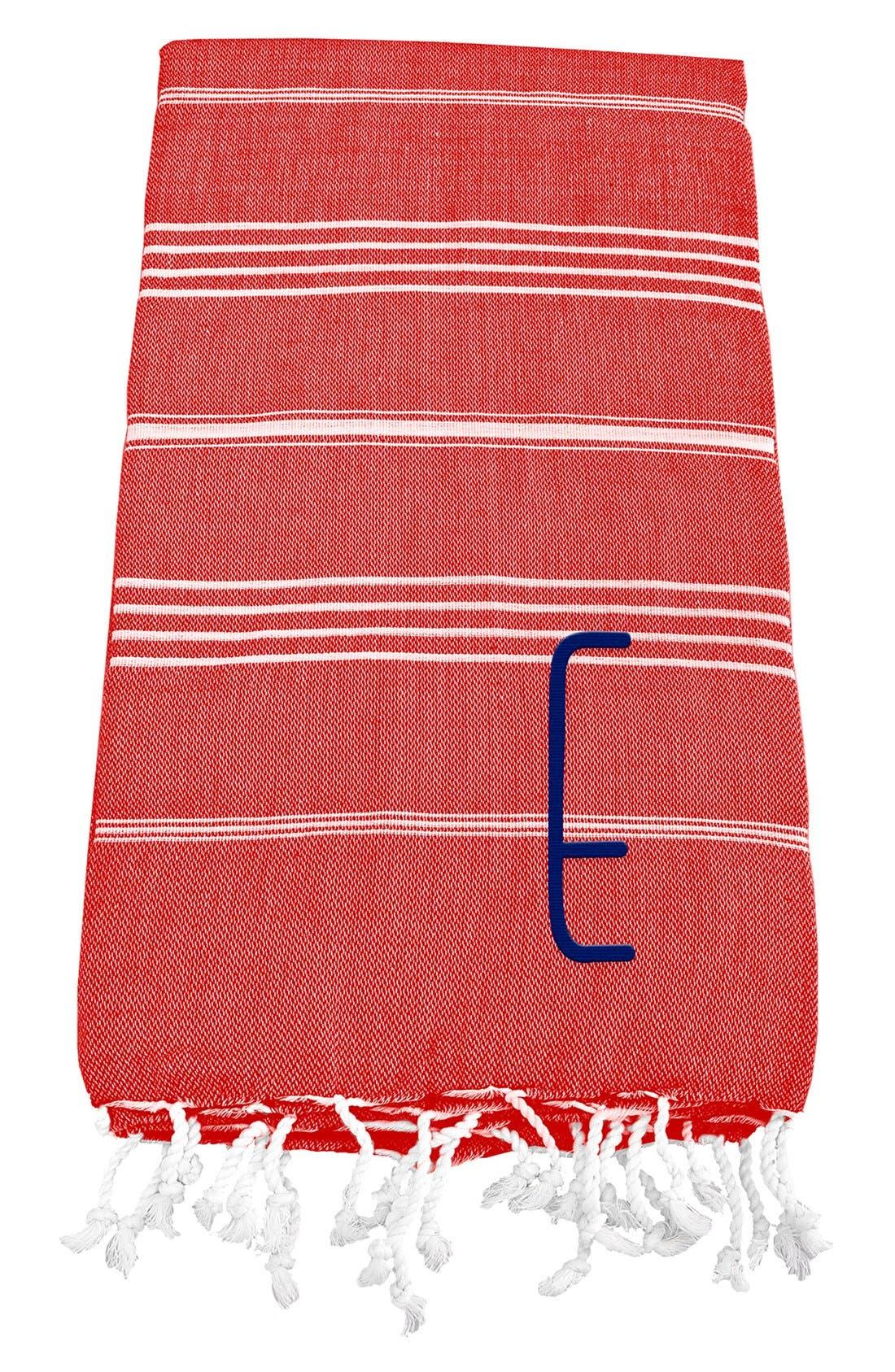 Monogram Turkish Cotton Towel,                             Main thumbnail 114, color,