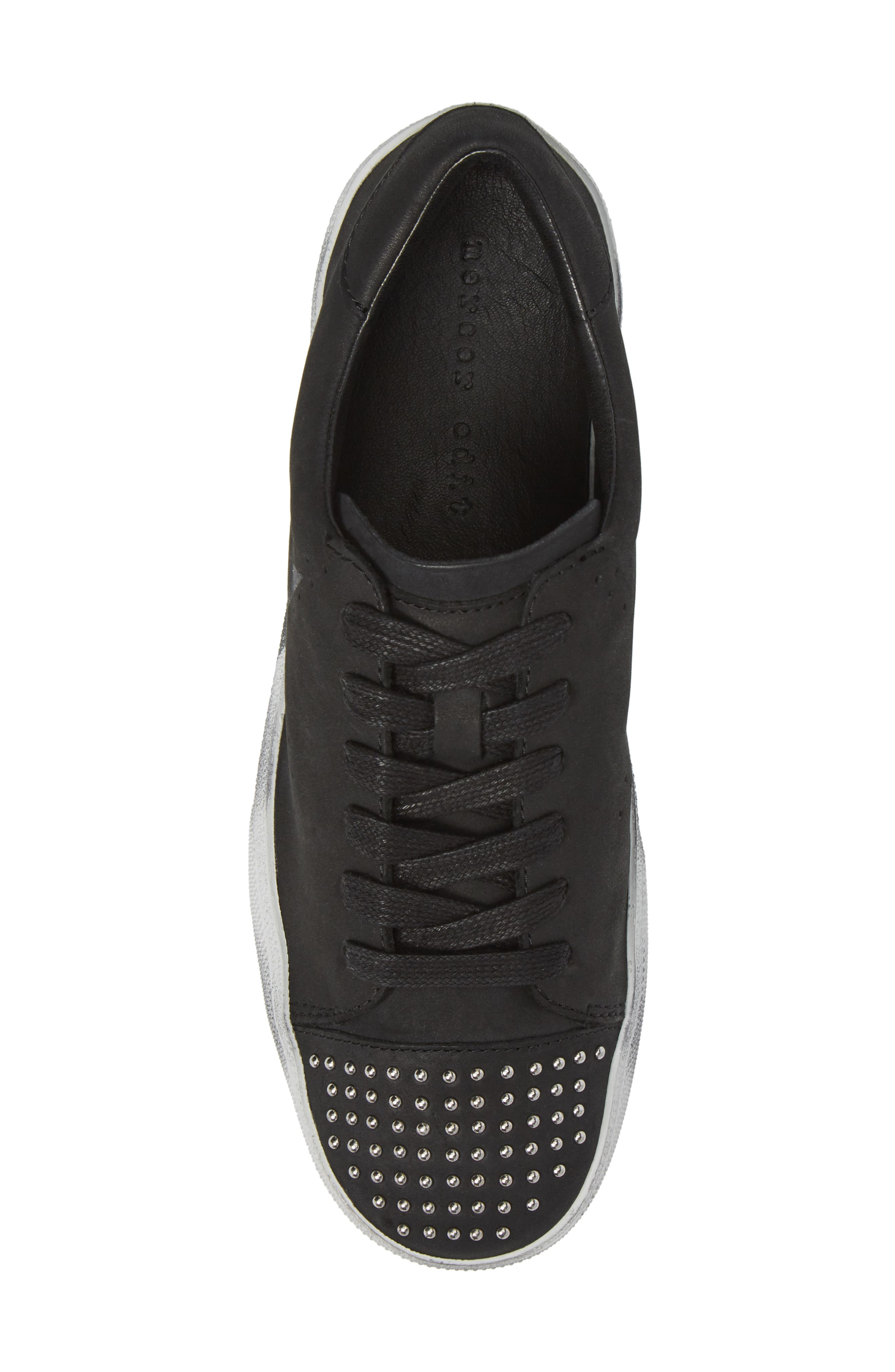 Catcall Studded Sneaker,                             Alternate thumbnail 5, color,                             002