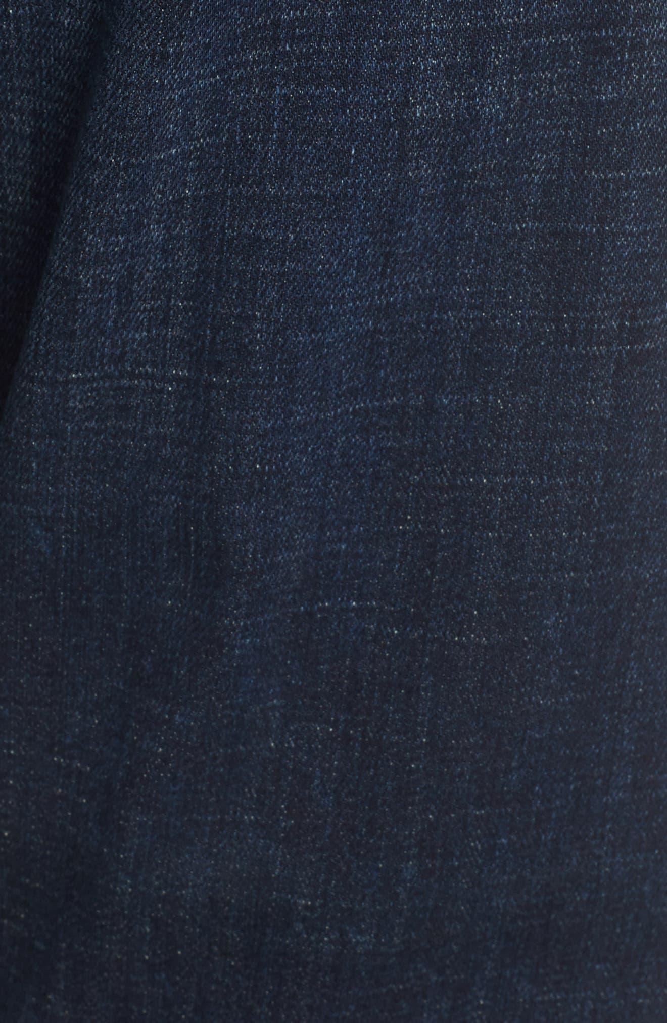 Emerson Slim Boyfriend Jeans,                             Alternate thumbnail 5, color,                             408