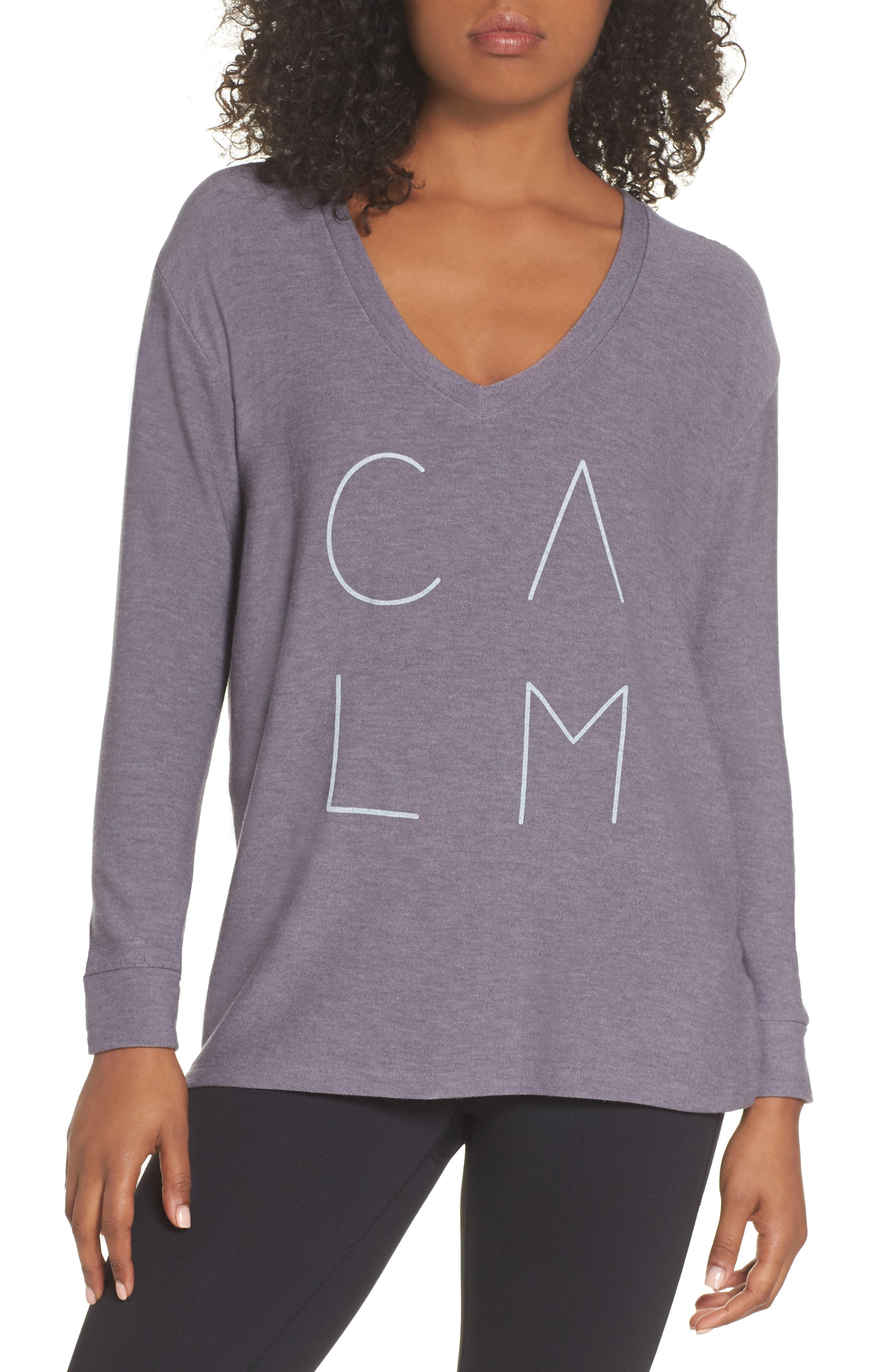 Robin Calm Sweater,                         Main,                         color, CHARCOAL