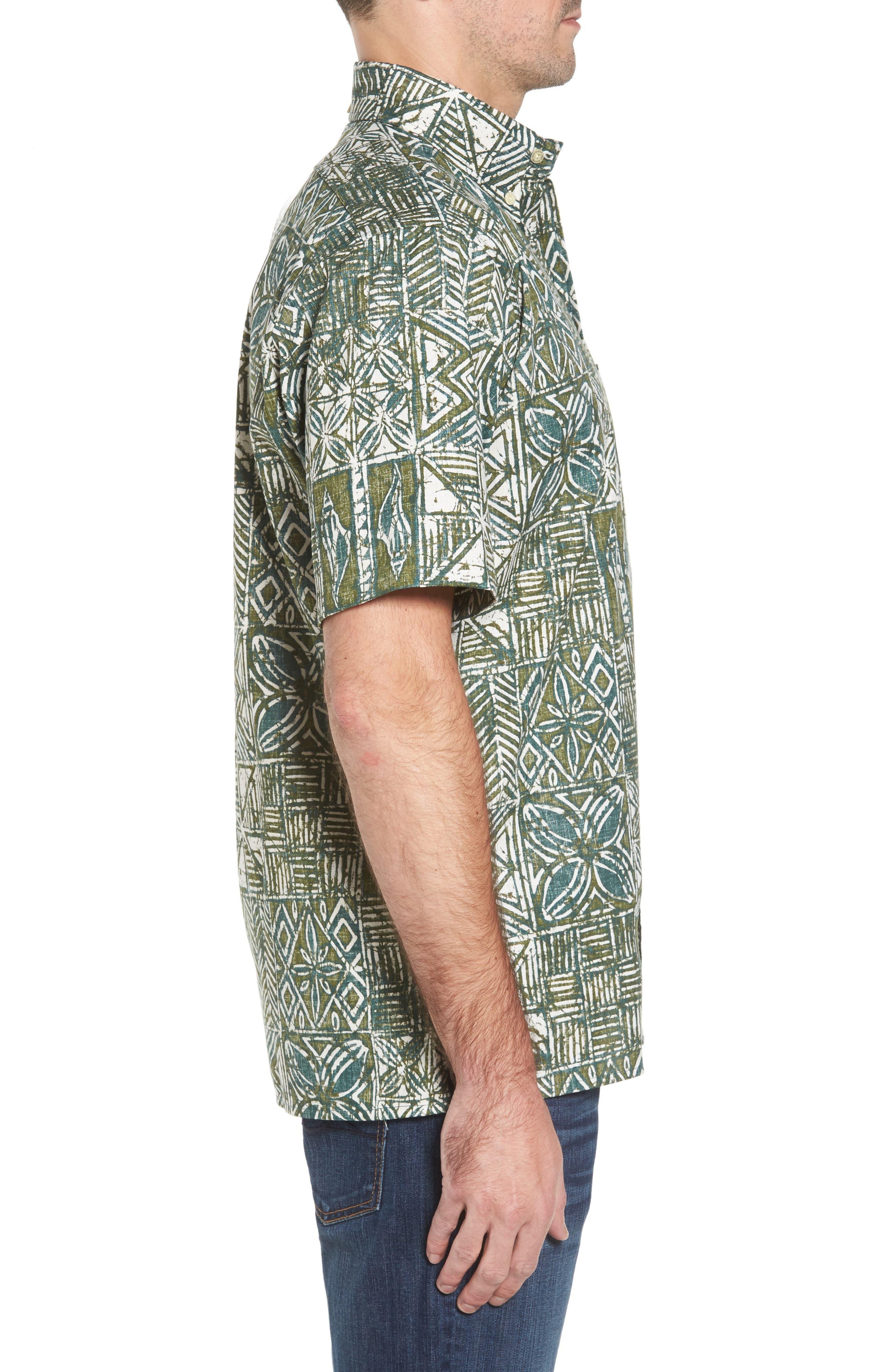 Leho Kapa Classic Fit Sport Shirt,                             Alternate thumbnail 3, color,                             315