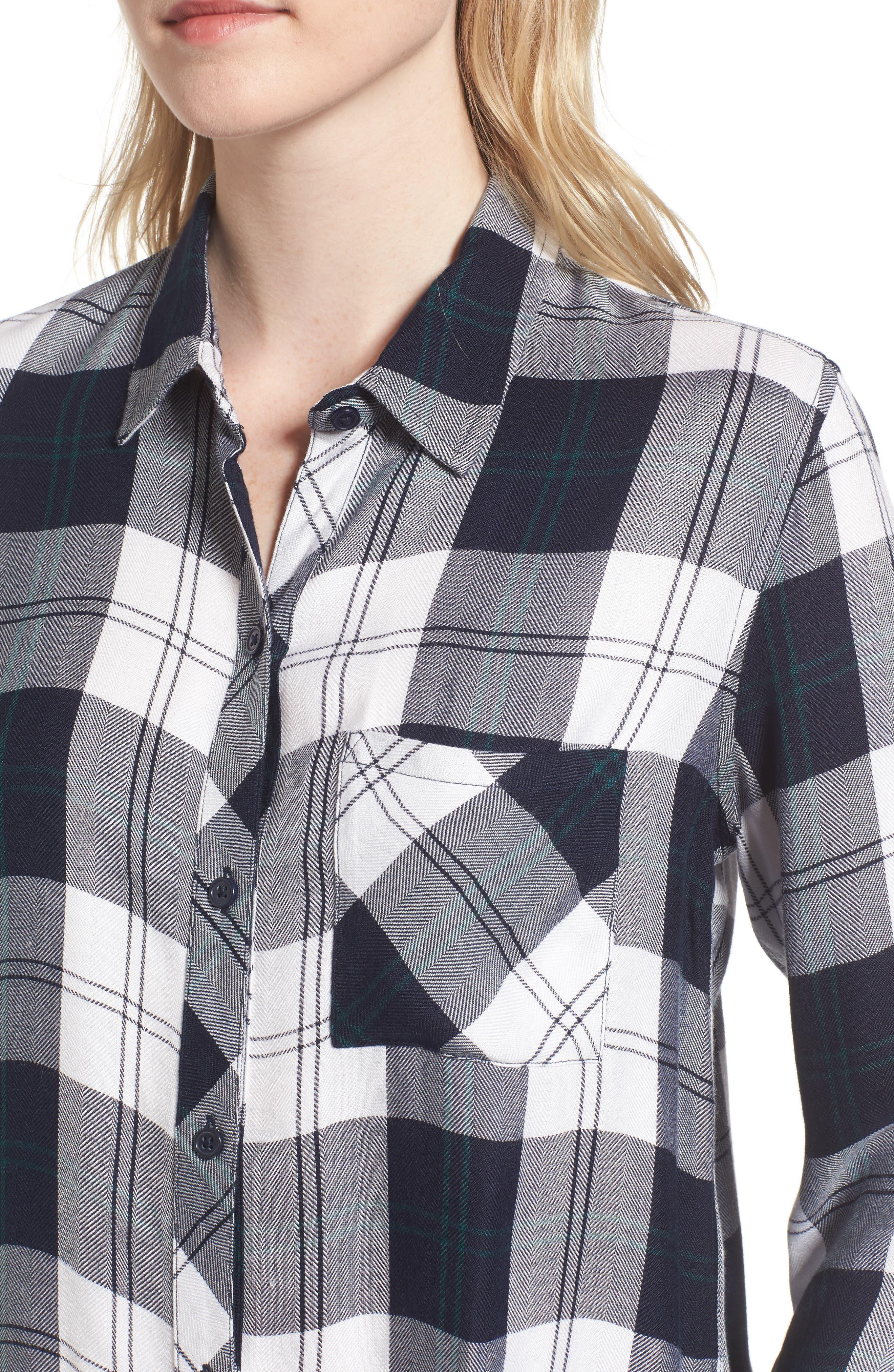 Hunter Plaid Shirt,                             Alternate thumbnail 419, color,
