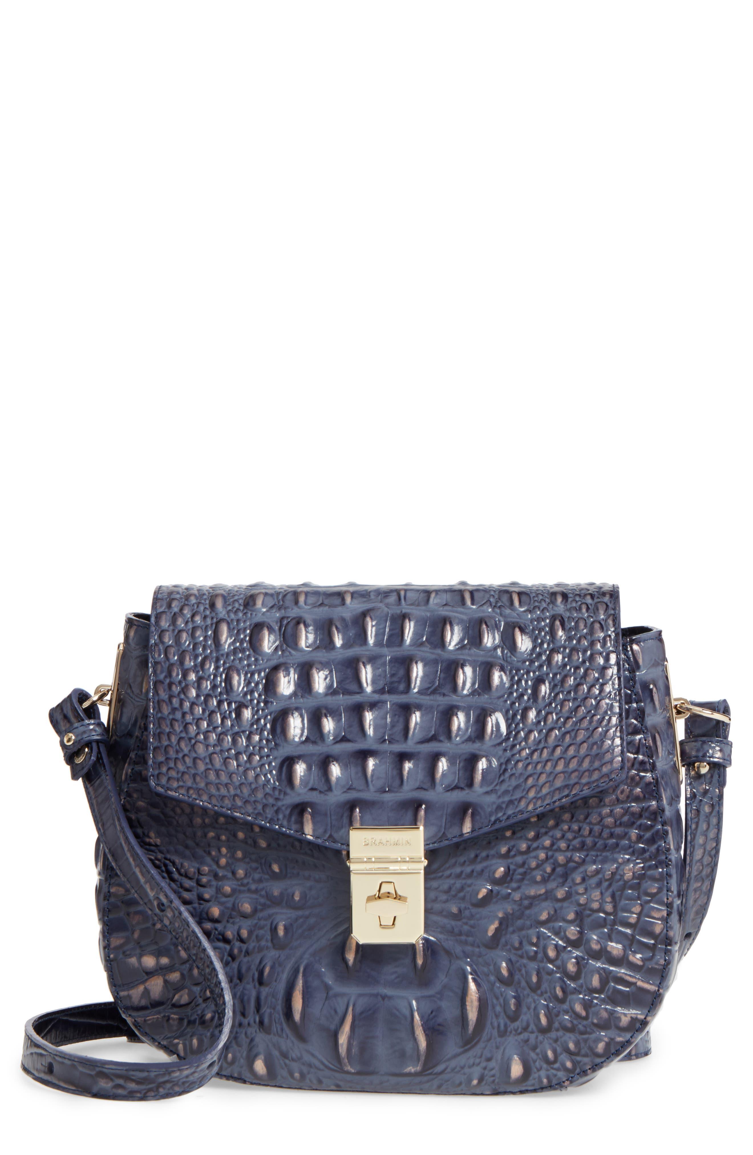 Melbourne - Lizzie Leather Crossbody Bag,                             Main thumbnail 4, color,