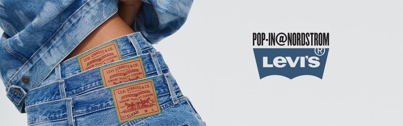 Pop-In@Nordstrom x Levi's clothing.