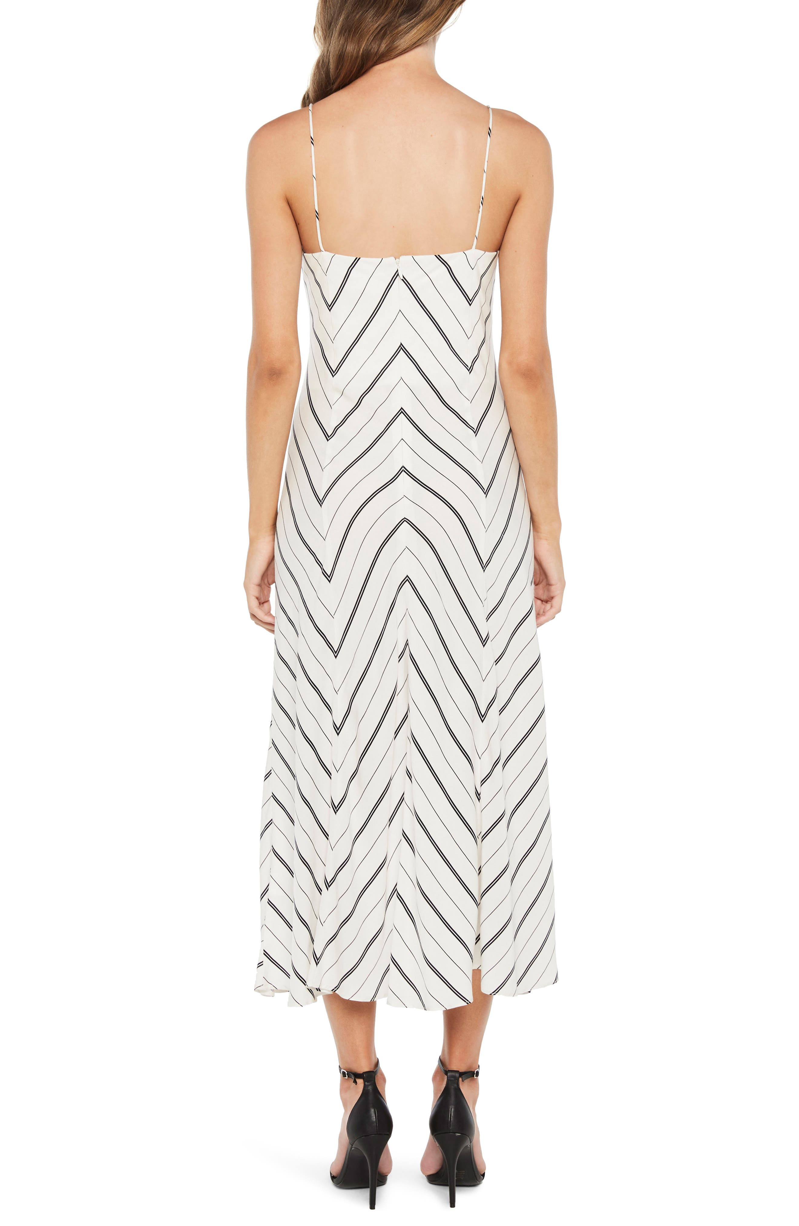 Winona Stripe Ruffle Sundress,                             Alternate thumbnail 2, color,                             162