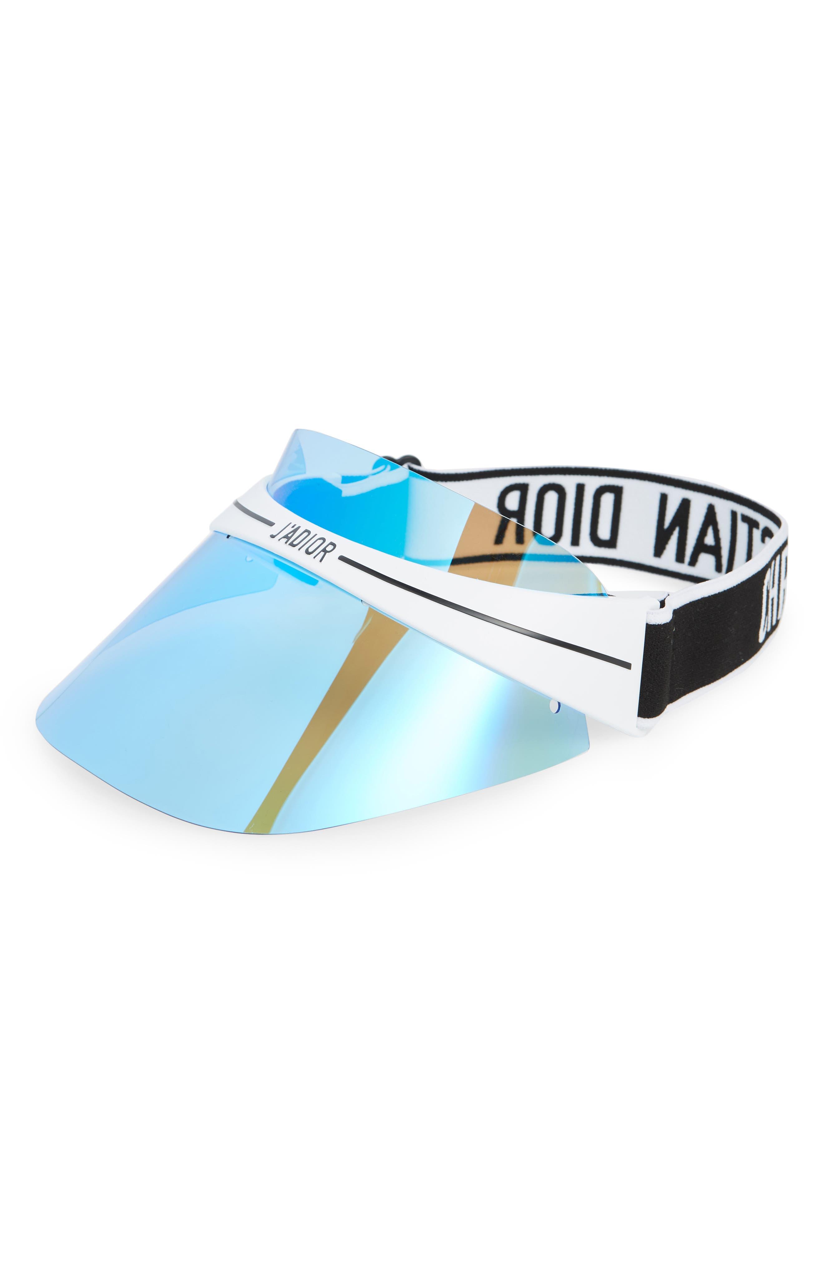 DiorClub1 Visor,                         Main,                         color, METALLIC BLUE/ GUNMETAL