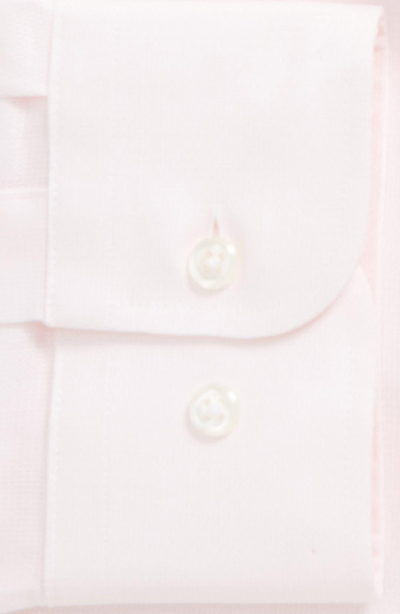 Trim Fit Solid Dress Shirt,                             Alternate thumbnail 26, color,